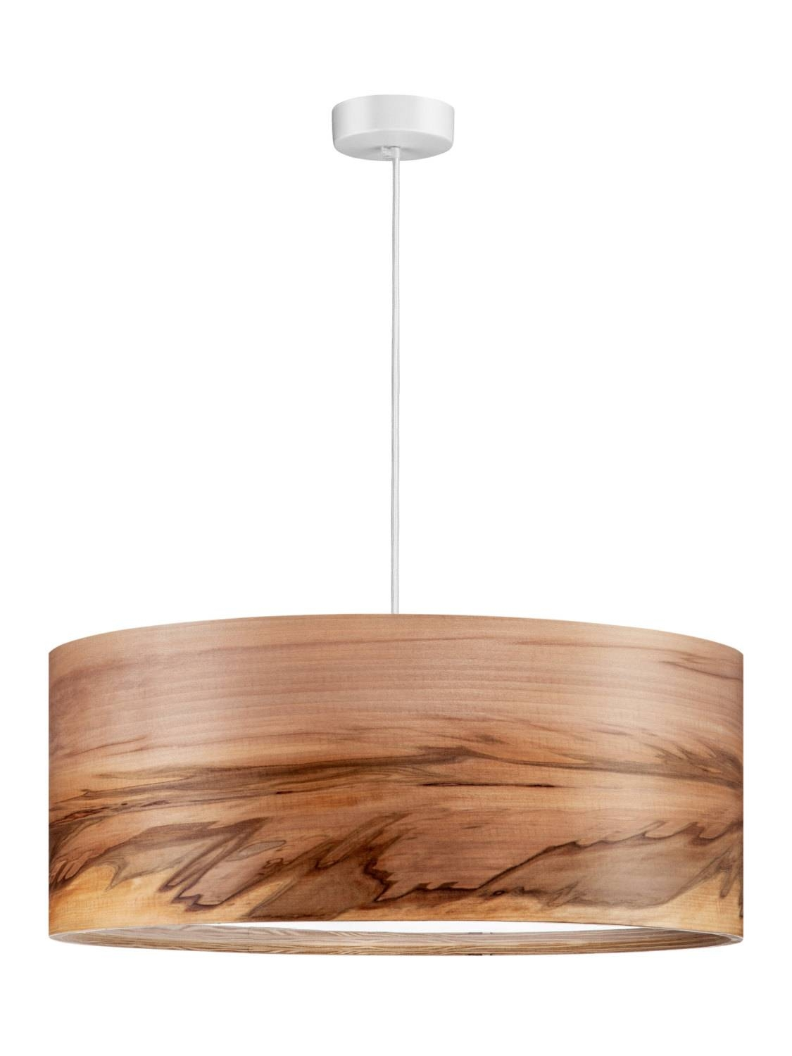 Pendant Lamp - Chandelier - Ceiling Lamp - Pendant Lights - Veneer regarding Wood Veneer Pendant Lights (Image 10 of 15)