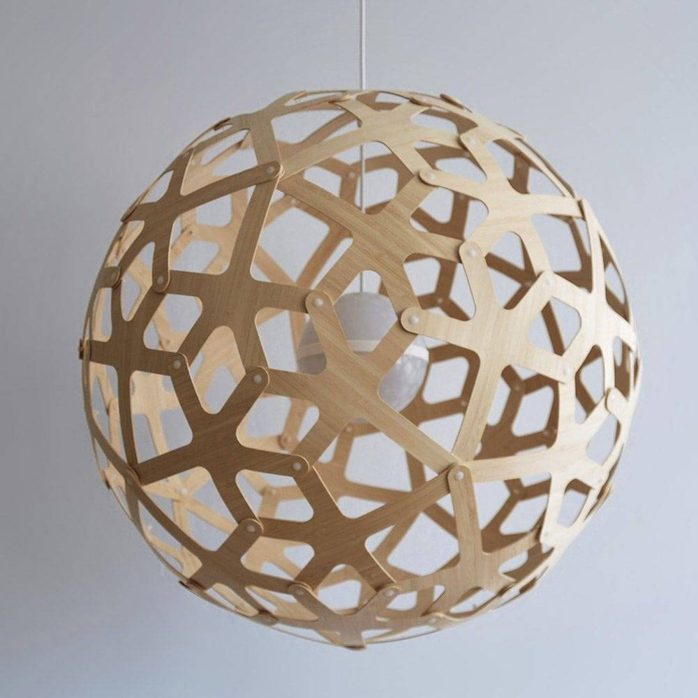 Pendant Lamp / Contemporary / Bamboo / Led – Coral – Dydell Pertaining To Coral Pendant Lights (View 13 of 15)