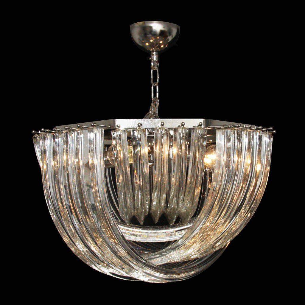 Pendant Lamp / Traditional / Murano Glass / Handmade - Fellini within Murano Glass Ceiling Lights (Image 14 of 15)