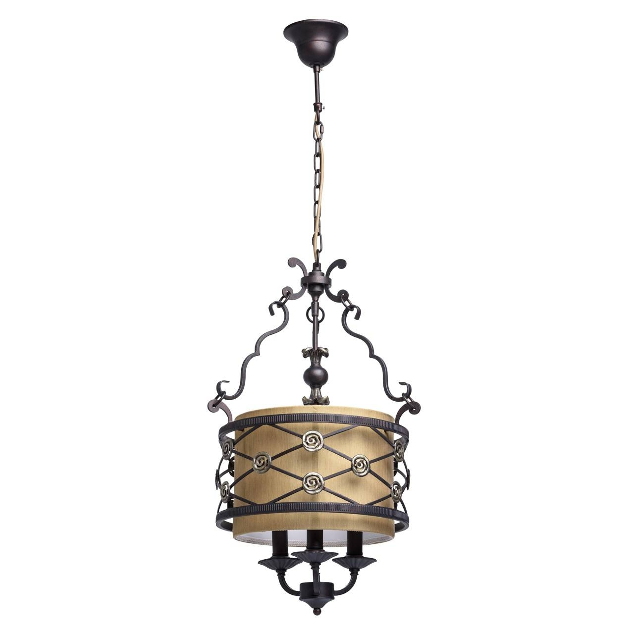 Pendant Light Chiaro 382016103 intended for Wrought Iron Lights Pendants (Image 9 of 15)