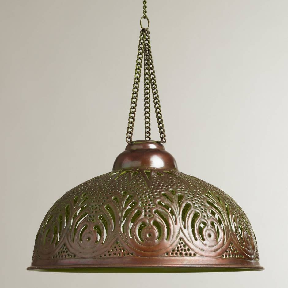 Pendant Light Fixtures | Home Designs with regard to Mercury Glass Lights Pendants (Image 13 of 15)