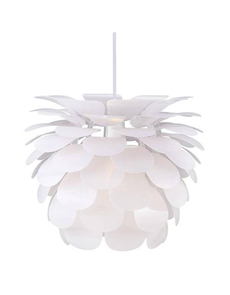 View gallery of white flower pendant lights showing 5 of 15 photos pendant light flower white e27 500mm diameter myplanetled with regard to white flower pendant lights mightylinksfo