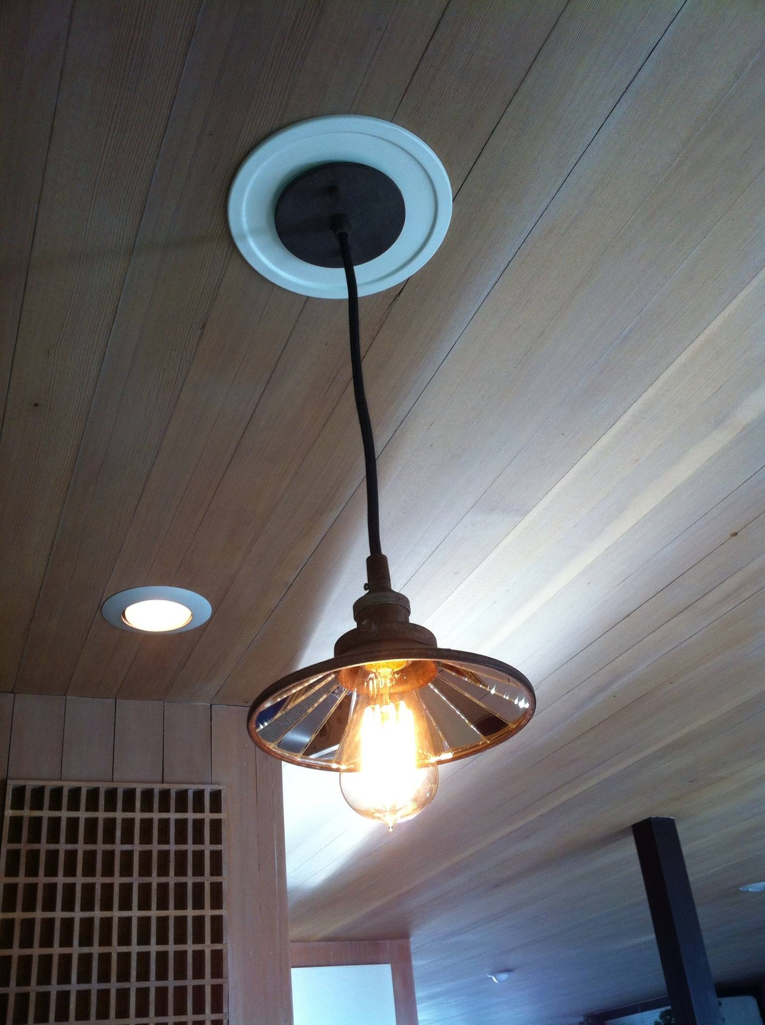 Featured Photo of Recessed Lights To Pendant Lights