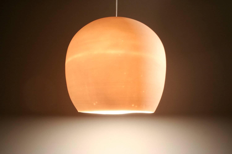 Pendant Light: Porcelain Egg. within Etsy Pendant Lights (Image 12 of 15)
