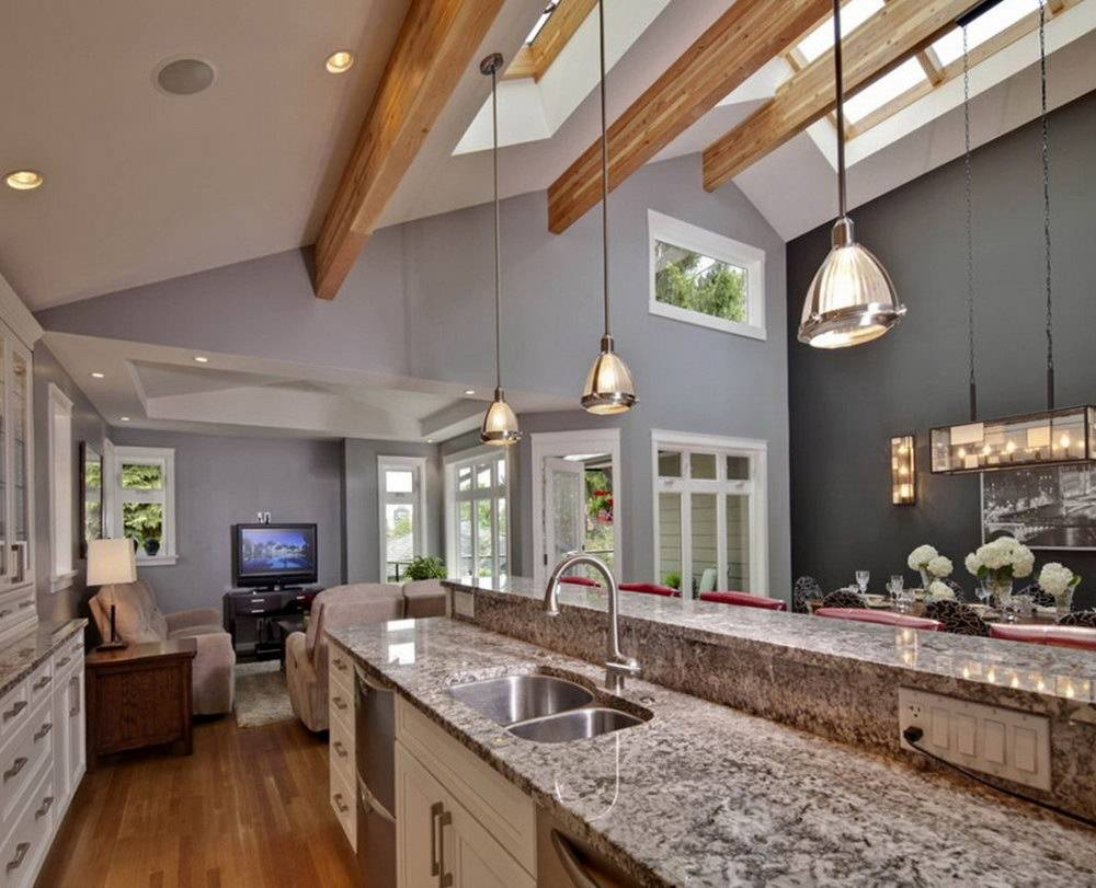 Pendant Light Vaulted Ceiling | Home Design Ideas regarding Vaulted Ceiling Pendant Lights (Image 13 of 15)