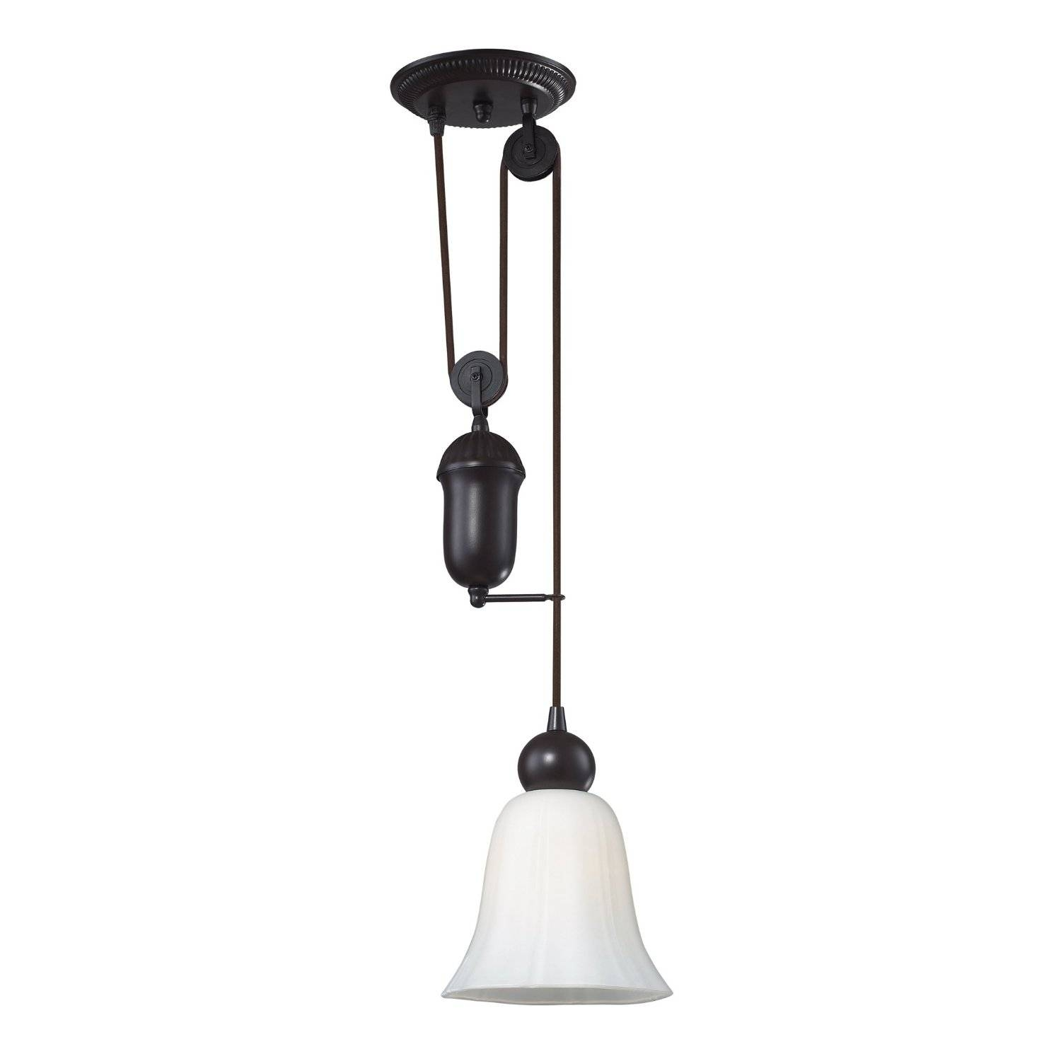 Pendant Lighting : Double Pulley Pendant Light Enchanting Mid intended for Cb2 Pendant Lighting (Image 10 of 15)