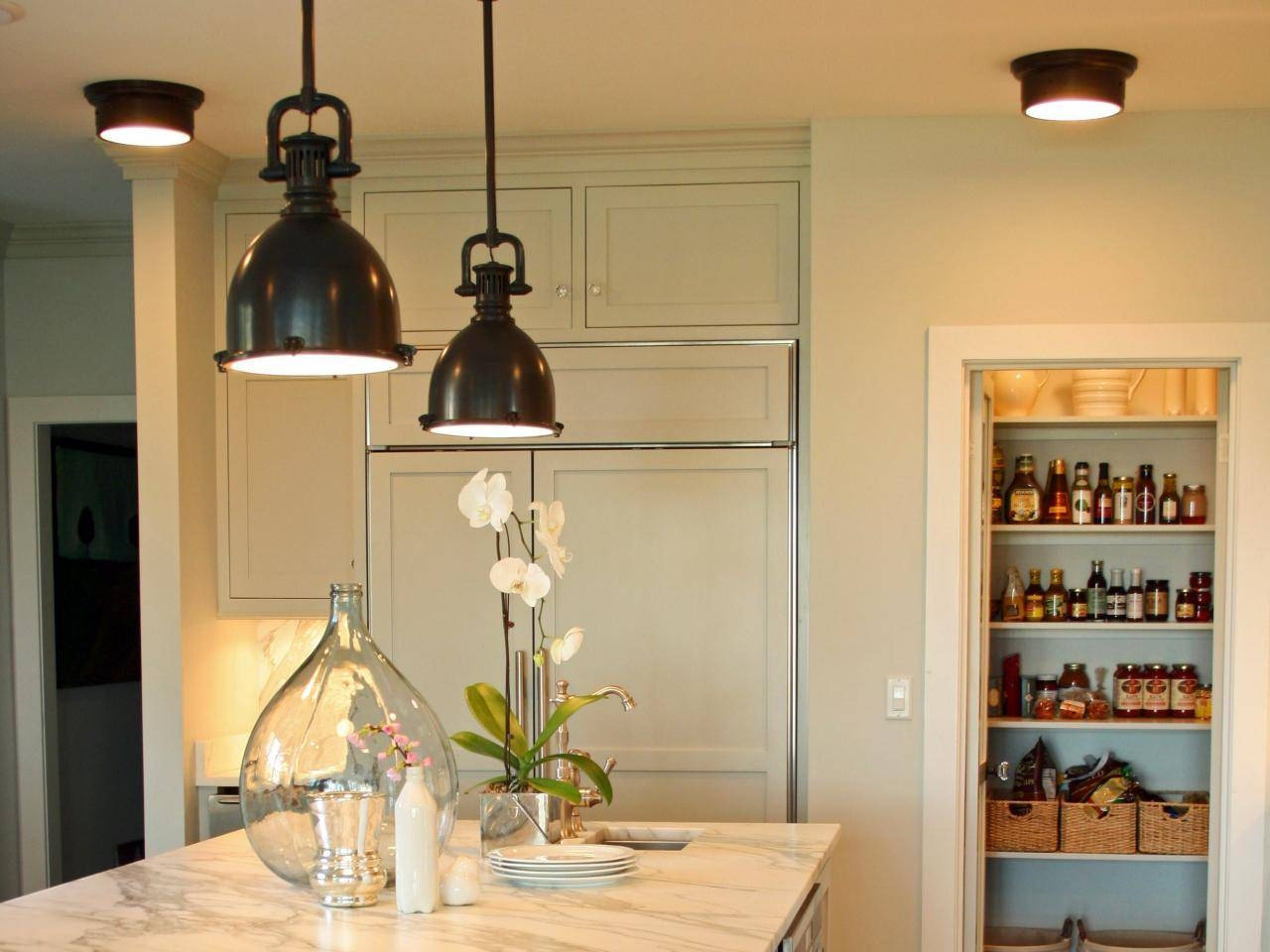 Pendant Lighting Kitchen. Kitchen Long Pendant Light Pendant with Cottage Style Pendant Lighting (Image 15 of 15)