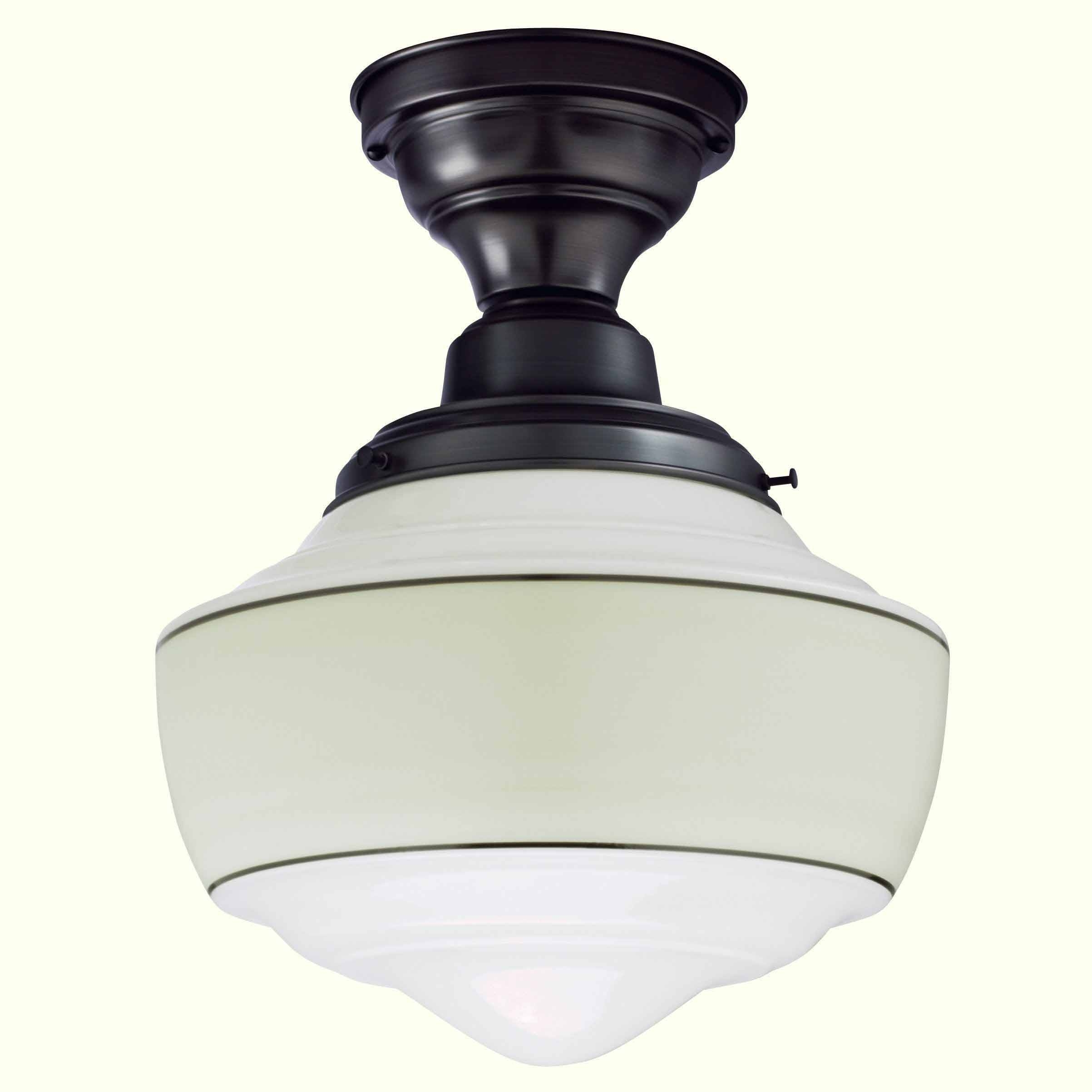 Pendant Lighting : Schoolhouse Pendant Light Brushed Nickel with Schoolhouse Pendant Lights Canada (Image 9 of 15)