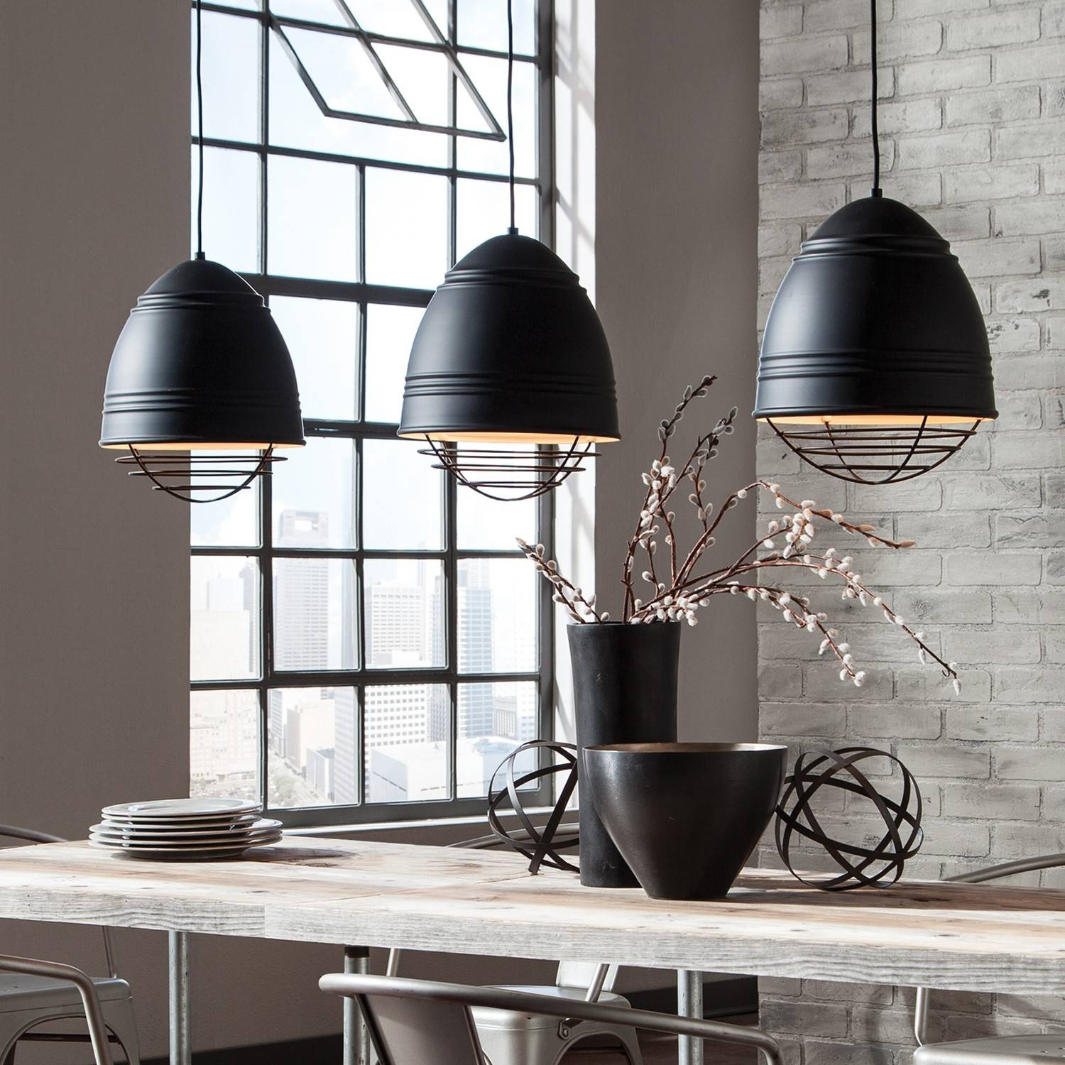 Pendant Lights For A Kitchen Island | Design Necessities Lighting throughout Oversized Pendants (Image 12 of 15)