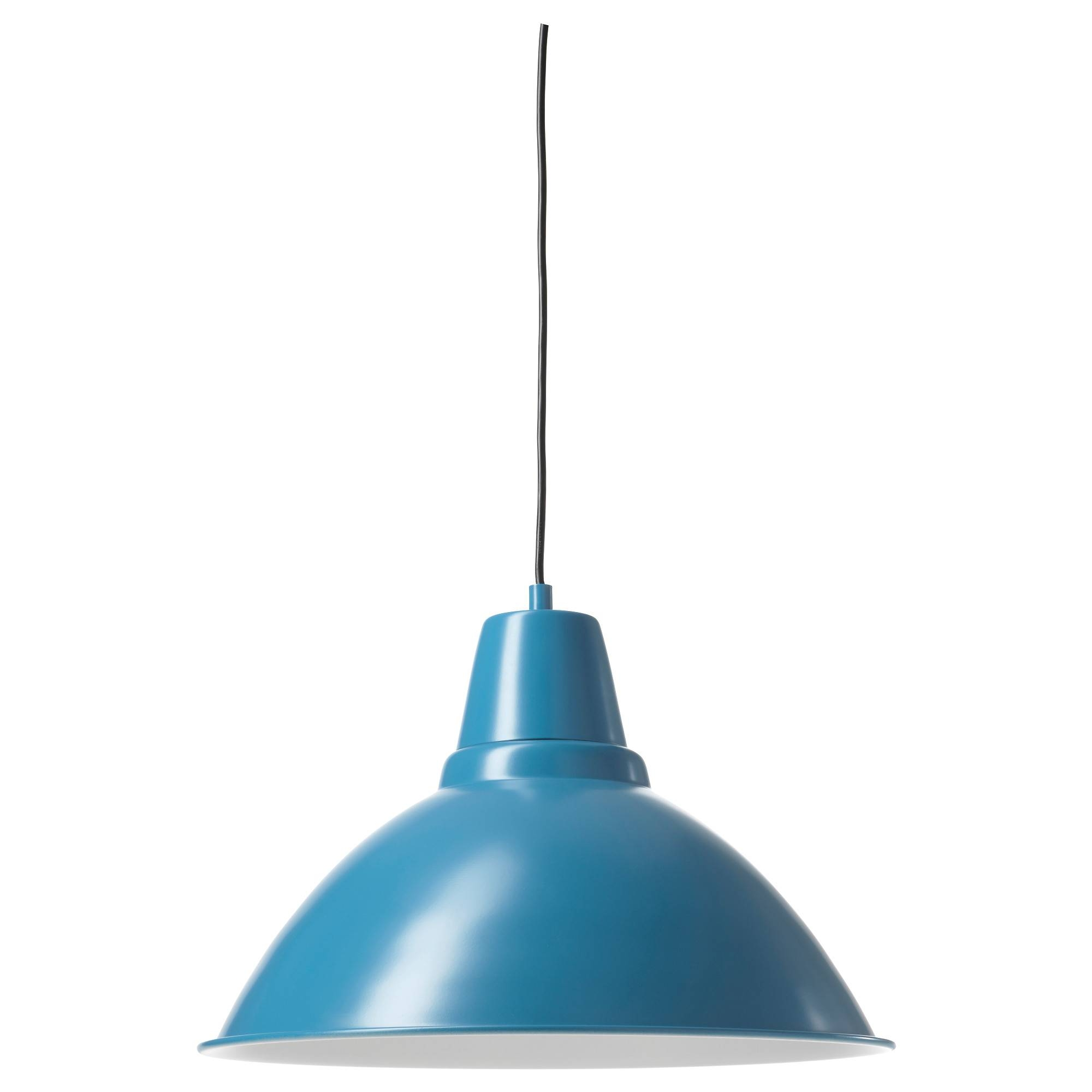 Pendant Lights & Lamp Shades - Ikea in Aqua Pendant Lights (Image 13 of 15)