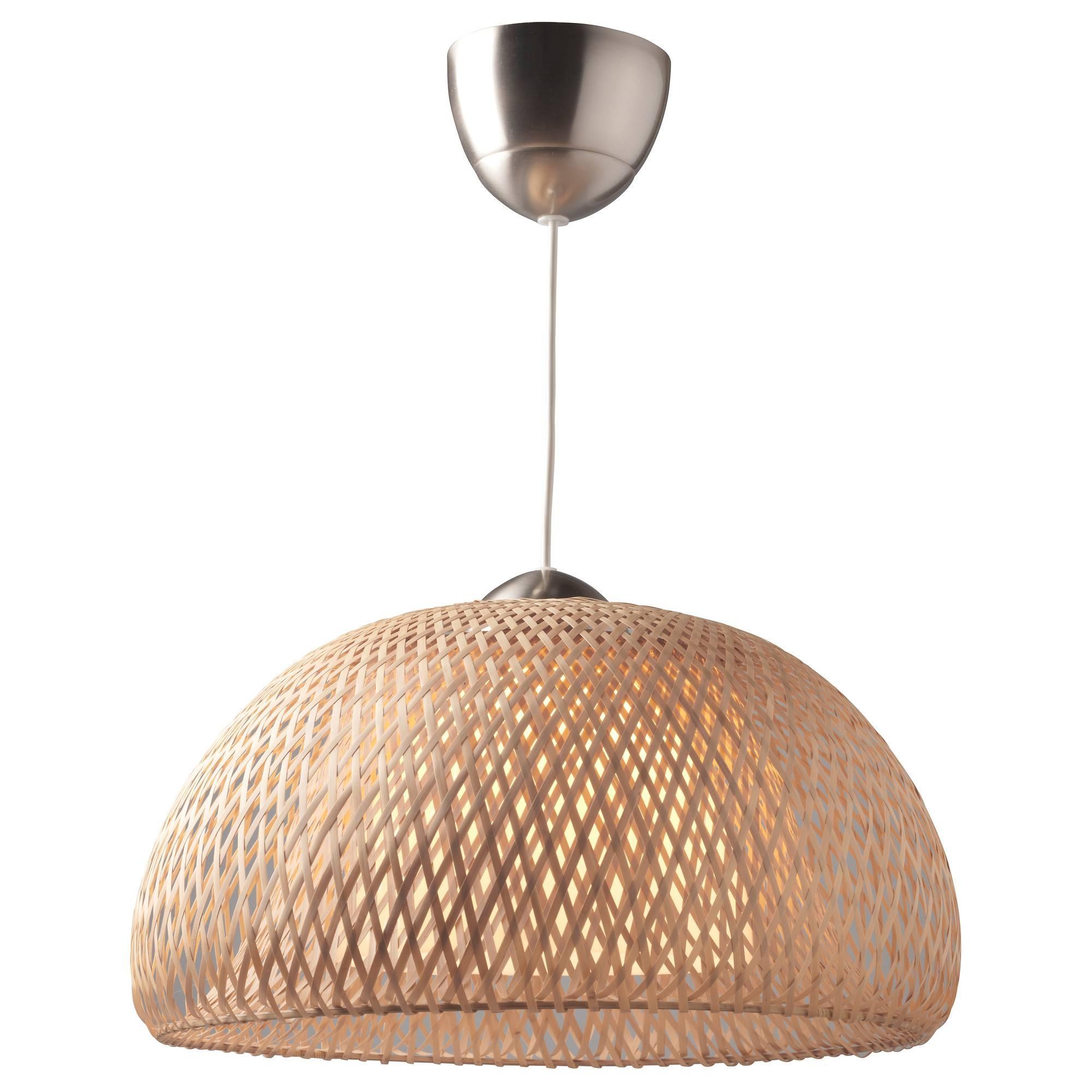 Pendant Lights & Lamp Shades - Ikea in Rattan Pendant Lighting (Image 13 of 15)