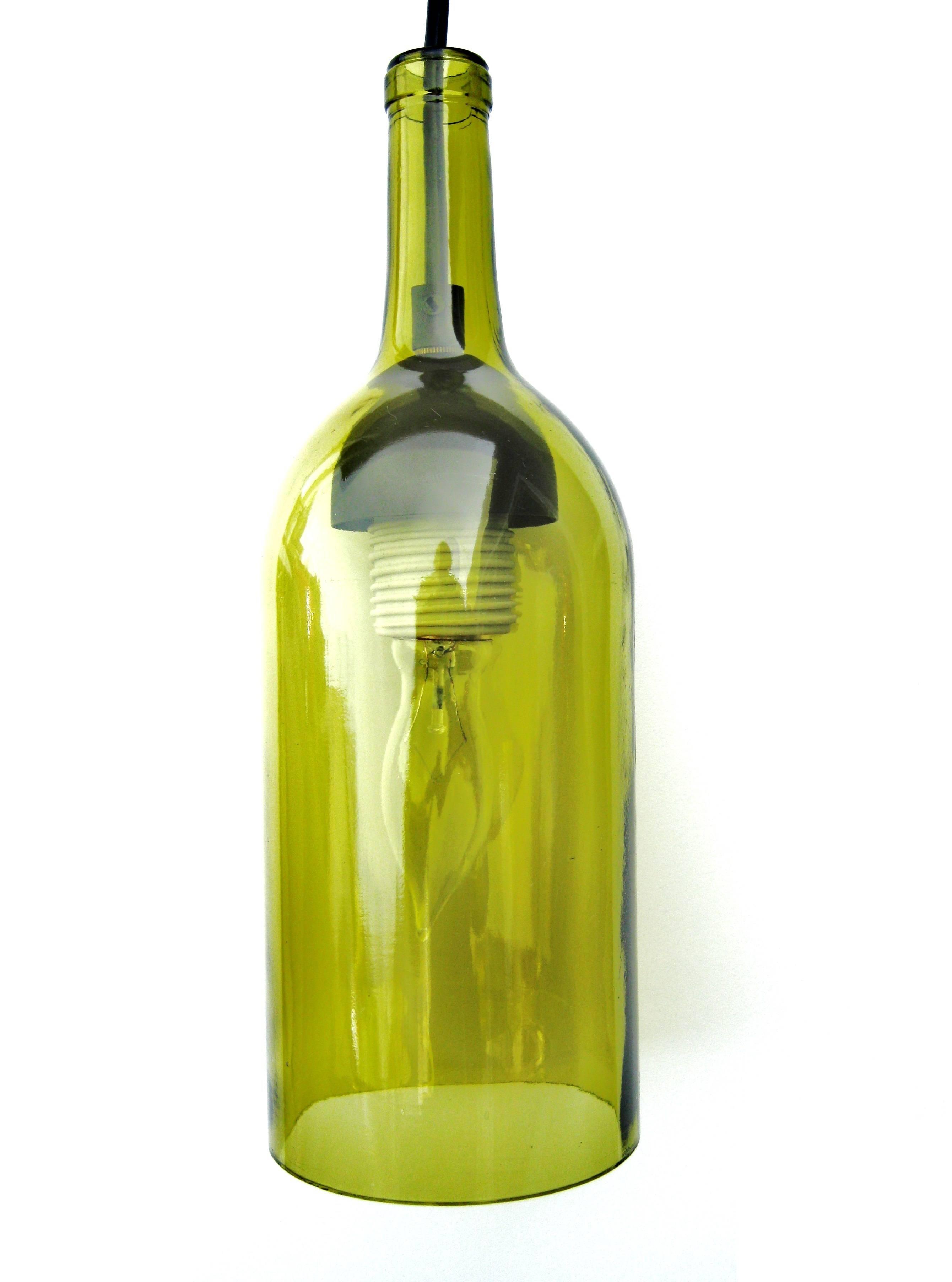 Pendant: Wine Bottle Pendants with Wine Bottle Pendants (Image 6 of 15)