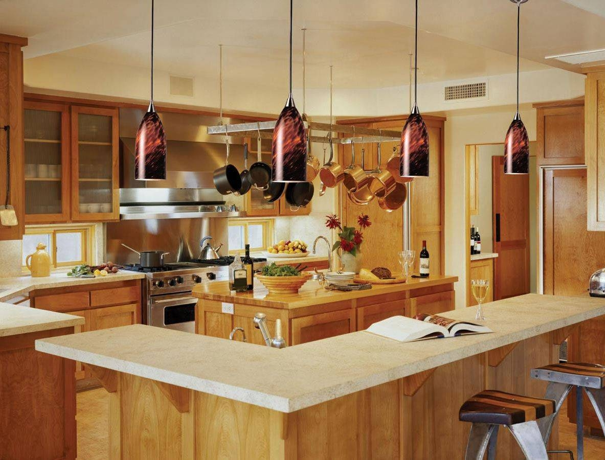 Perfect Kitchen Island Pendant Lighting Ideas 92 On Pendant Lights pertaining to Lights Over Breakfast Bar & 2018 Latest Lights Over Breakfast Bar azcodes.com