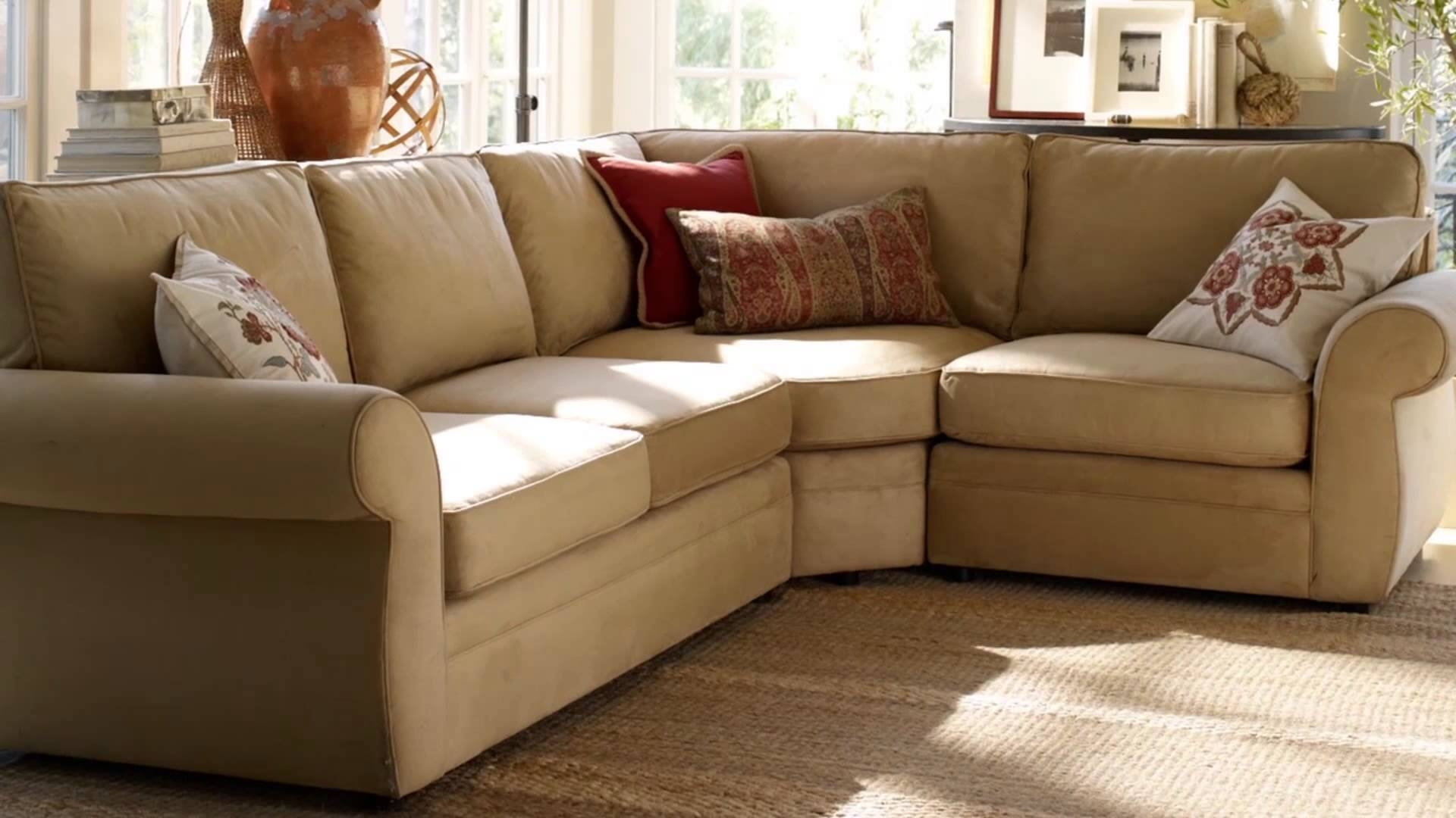 The best pottery barn pearce sectional sofas for Pottery barn pb sectional sofa