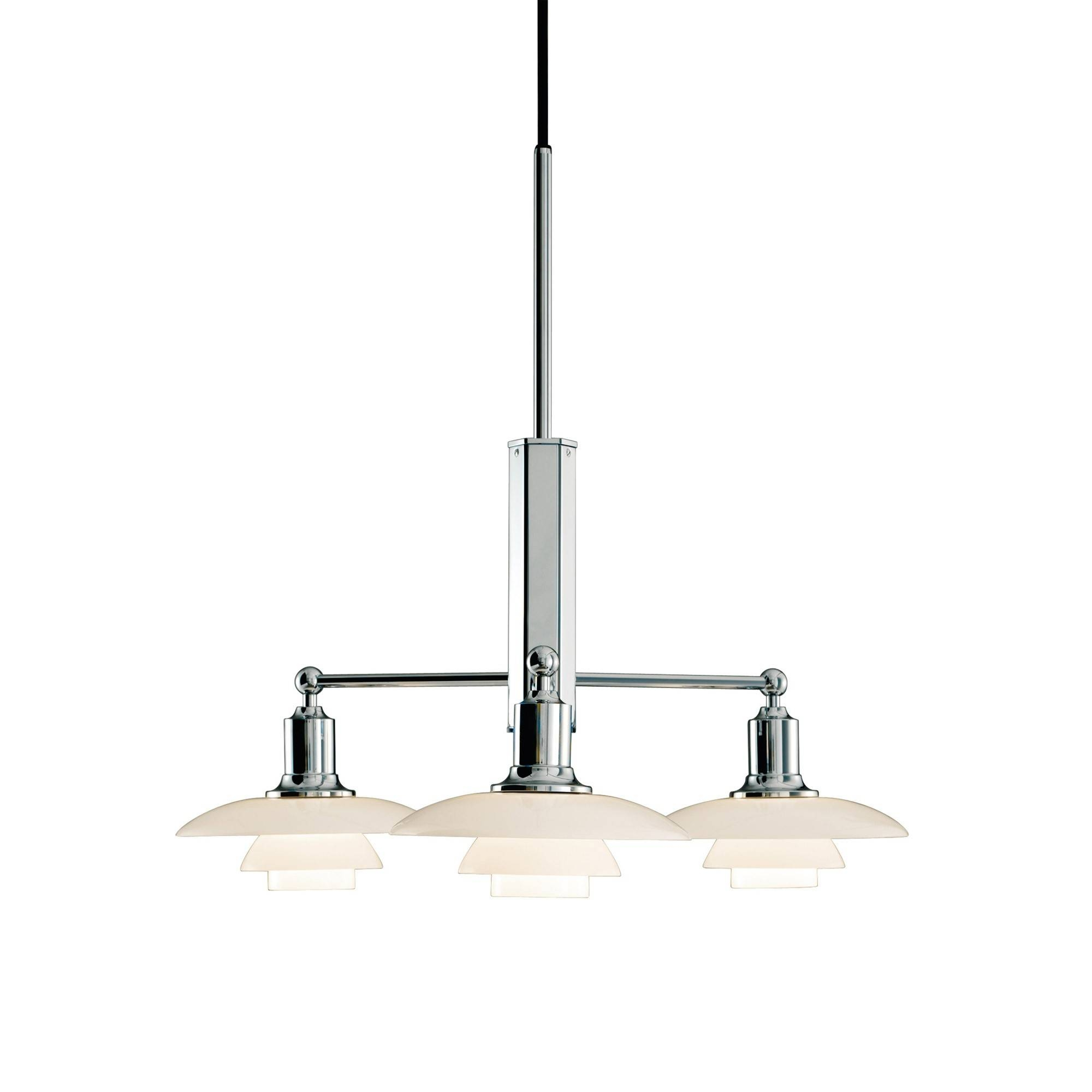 Ph 2/1 Stem Fitting Pendant Lamp | Skandium regarding 3 Lights Pendant Fitter (Image 10 of 15)