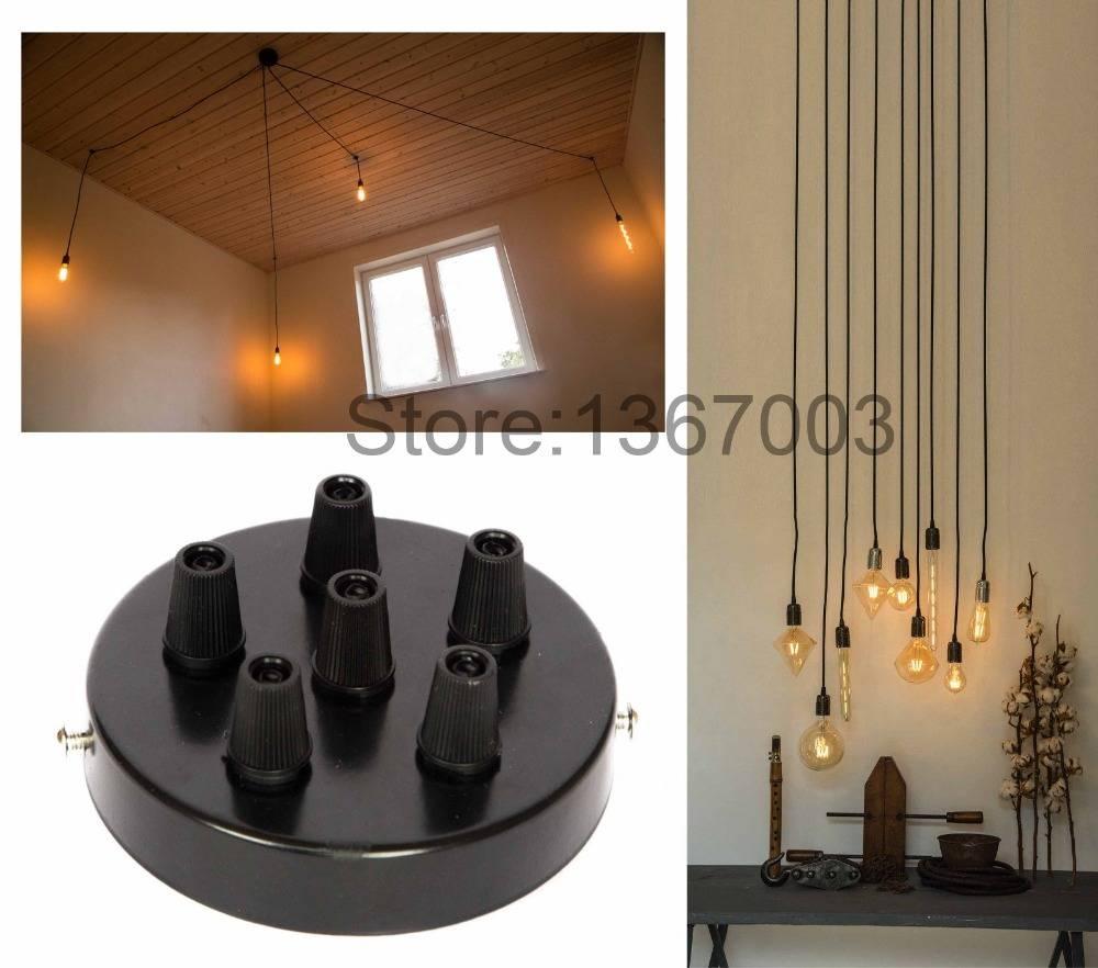 Popular Ceiling Plate Pendant Lights Diy-Buy Cheap Ceiling Plate throughout Diy Multi Pendant Lights (Image 13 of 15)
