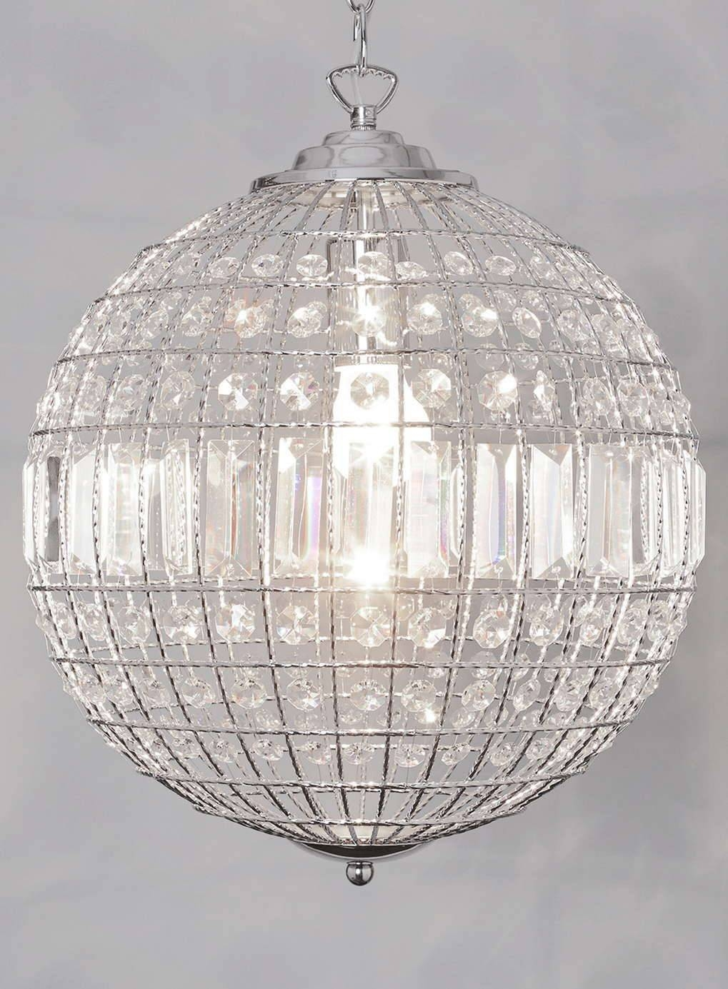 Popular Crystal Light Globe Buy Cheap Shape Modern Chandelier regarding Earth Globe Lights Fixtures (Image 14 of 15)