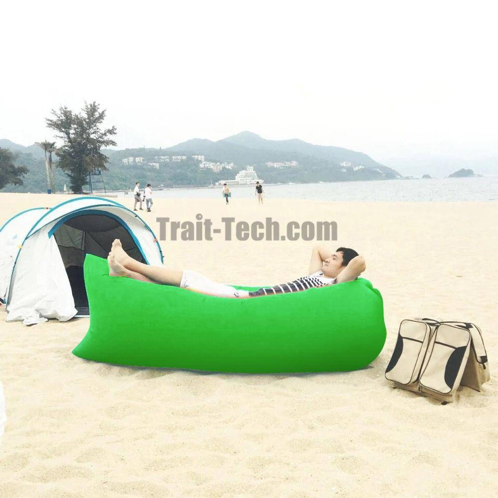 Popular Lazy Hangout Inflatable Air Sleeping Bag/ Sofa/ Couch Bed intended for Sleeping Bag Sofas (Image 7 of 15)