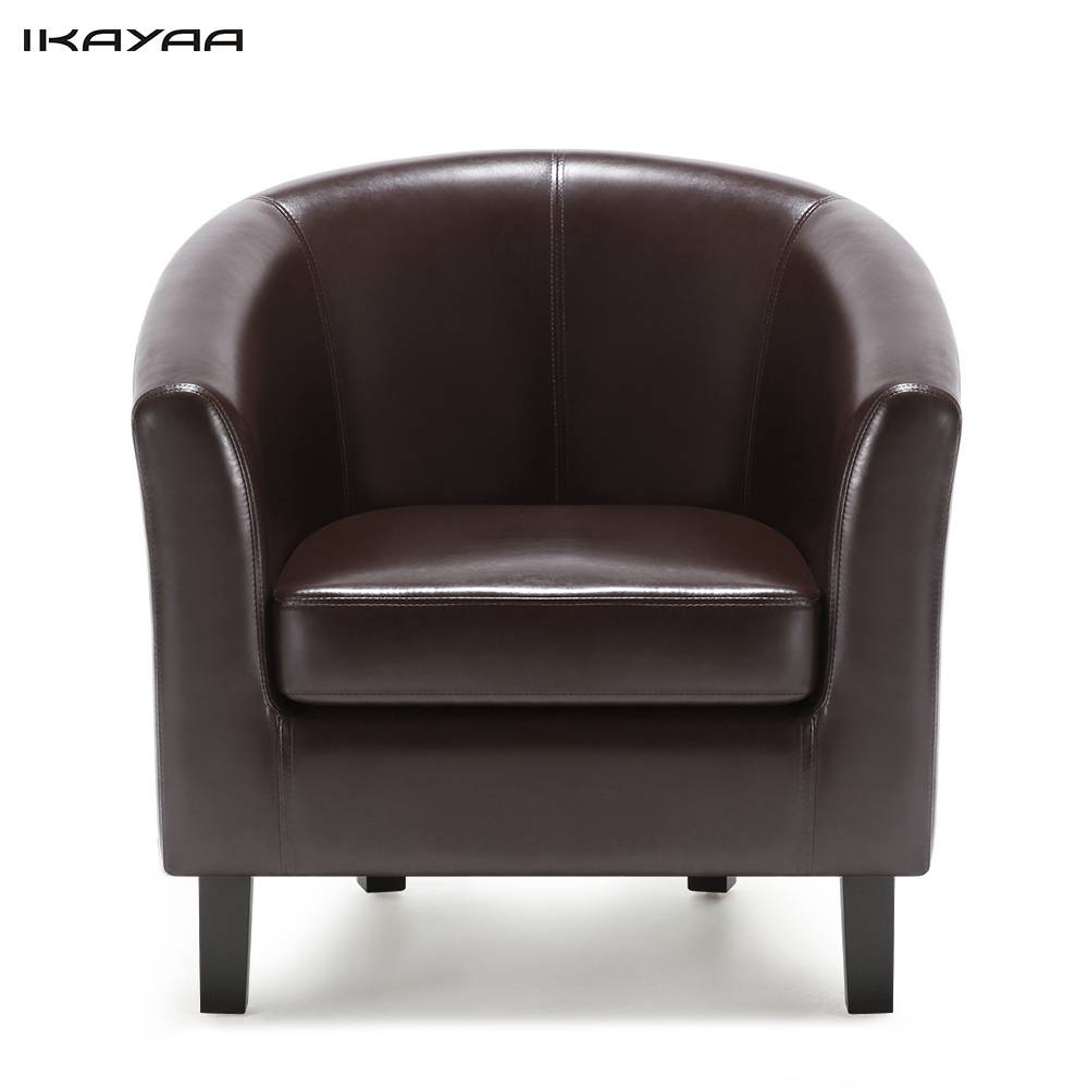 Popular Leather Modern Sofas-Buy Cheap Leather Modern Sofas Lots with Single Seat Sofa Chairs (Image 7 of 15)