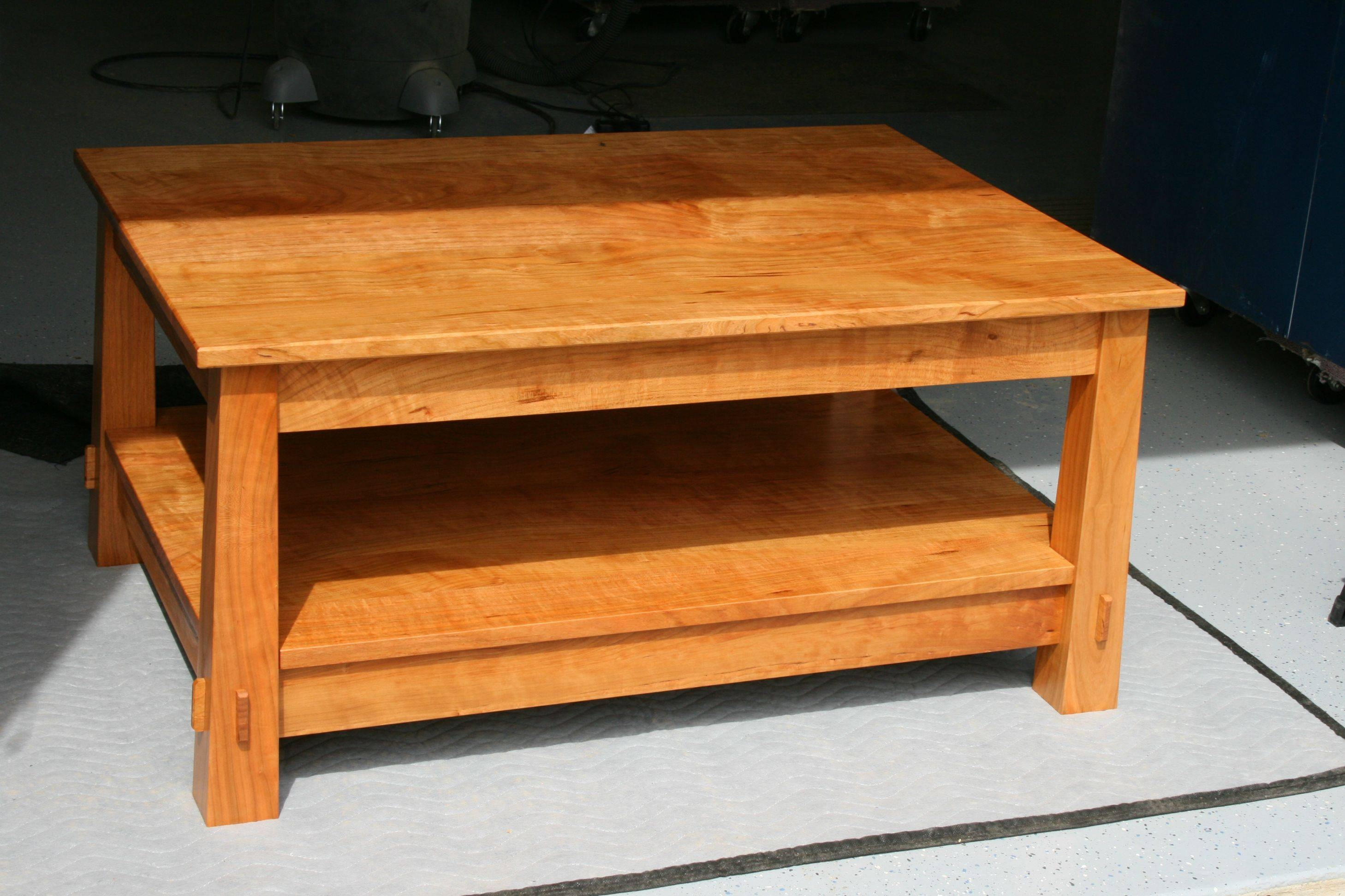 Popular Of Handmade Coffee Table With Handmade Reclaimed Wood regarding Handmade Wooden Coffee Tables (Image 12 of 15)