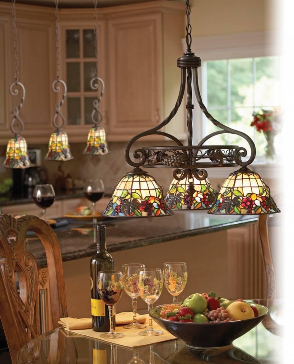Popular Of Wrought Iron Kitchen Lighting In Interior Decorating For Wrought Iron Kitchen Lights Fixtures (View 14 of 15)