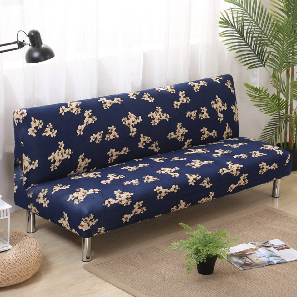 Popular Sofa Slipcovers Blue-Buy Cheap Sofa Slipcovers Blue Lots for Armless Couch Slipcovers (Image 12 of 15)