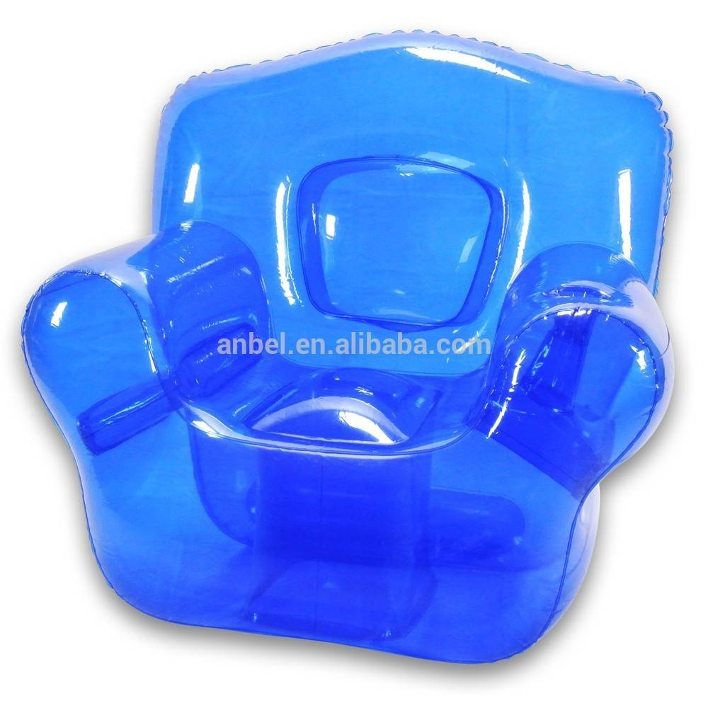 Popular Transparent Inflatable Corner Chair Air Sofa Inflatable in Inflatable Sofas And Chairs (Image 14 of 15)