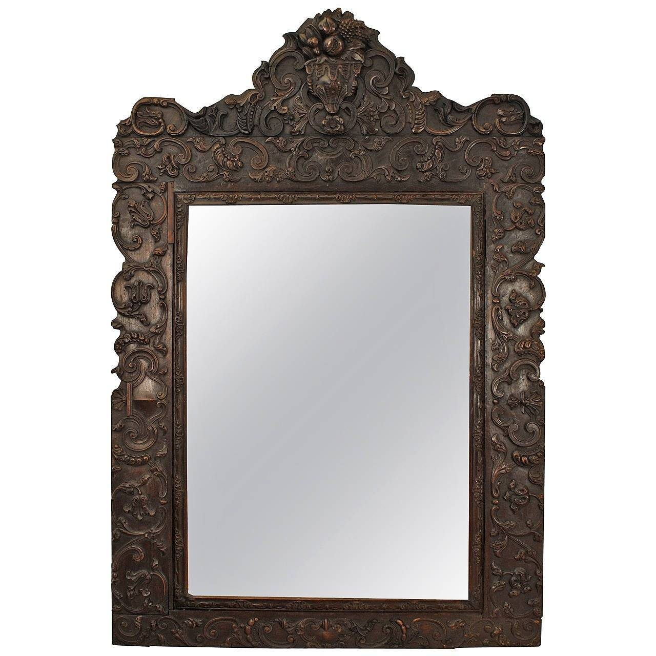 Photo Gallery of Rococo Floor Mirrors (Showing 10 of 15 Photos)