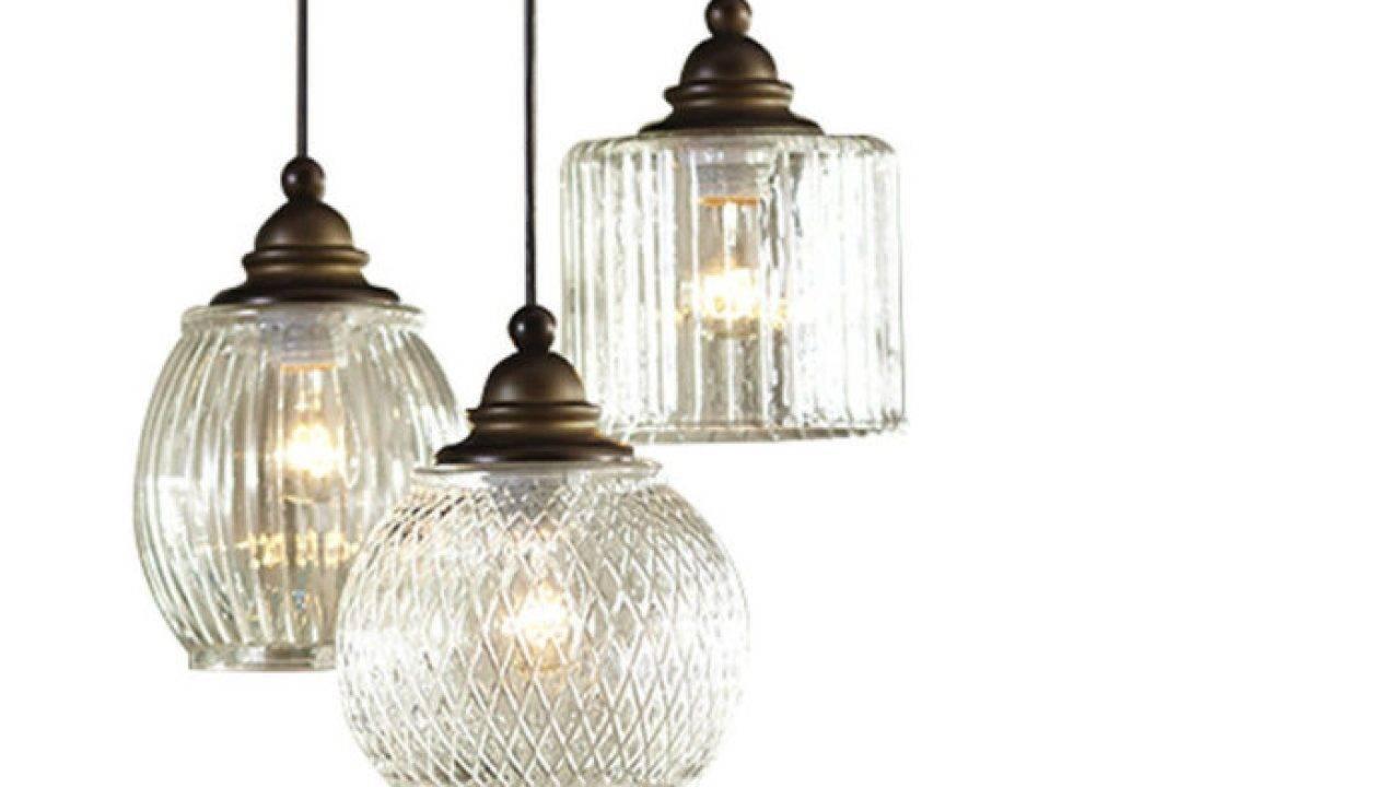 Top 15 Of Paxton Glass 3 Light Pendants
