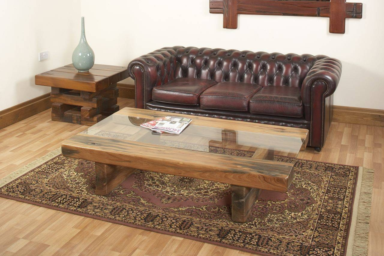 Product List - Jarabosky in Oak Sleeper Coffee Tables (Image 4 of 15)