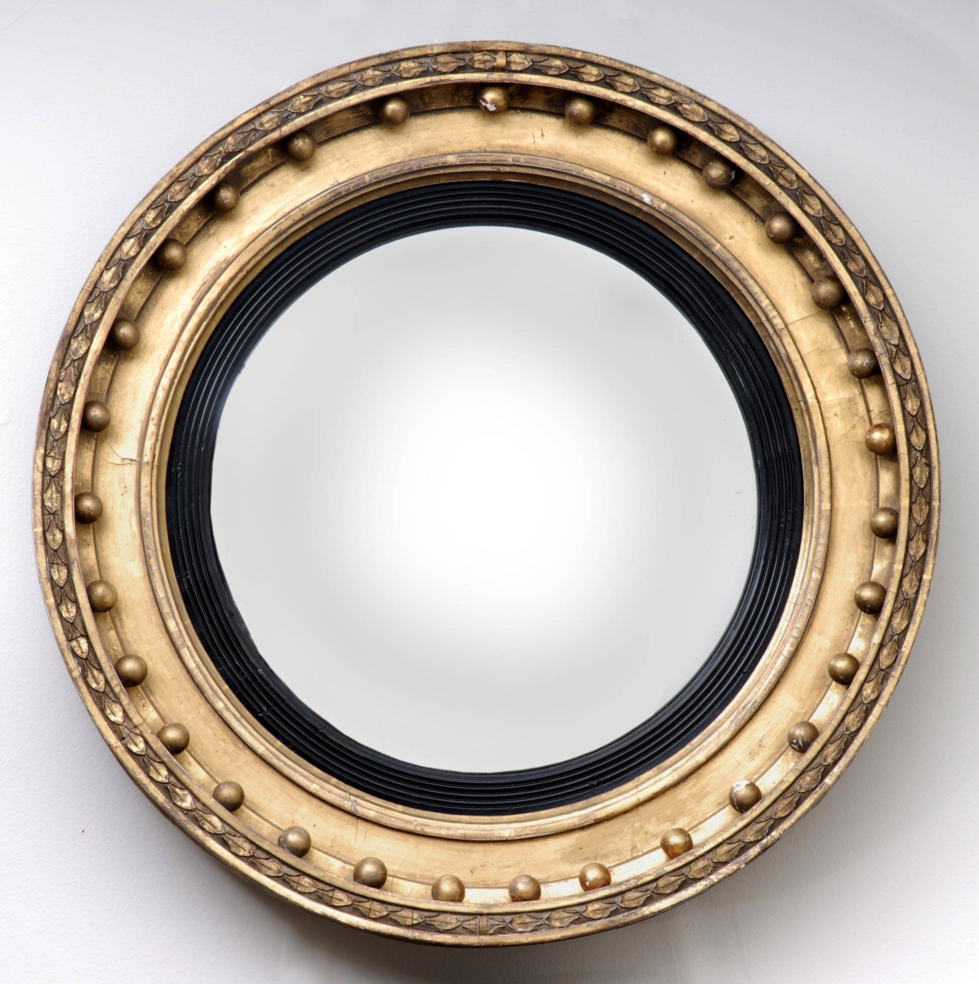 Product » Regency Convex Mirror 2 with regard to Antique Convex Mirrors (Image 13 of 15)