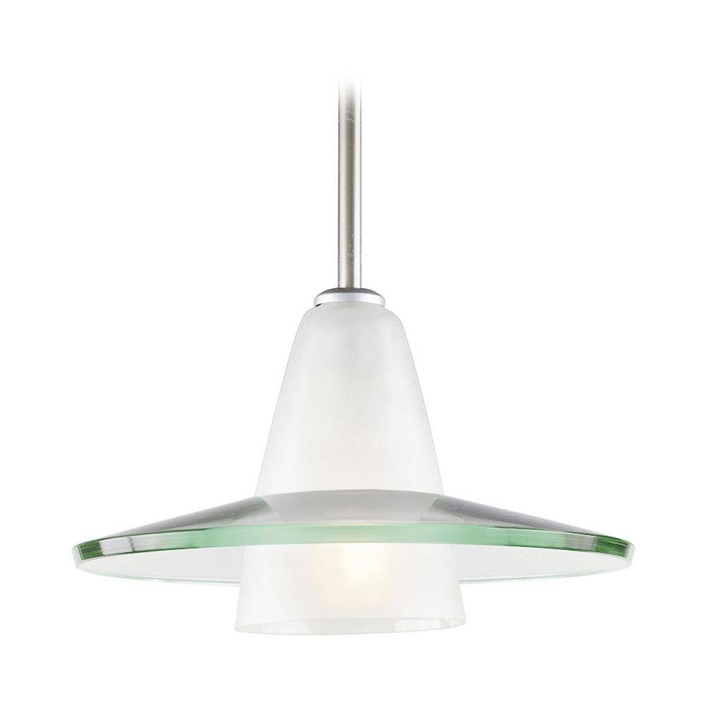 Progress Pendant Light With Saucer Glass Shade | P5011-09 pertaining to Clear Glass Shades for Pendant Lights (Image 11 of 15)