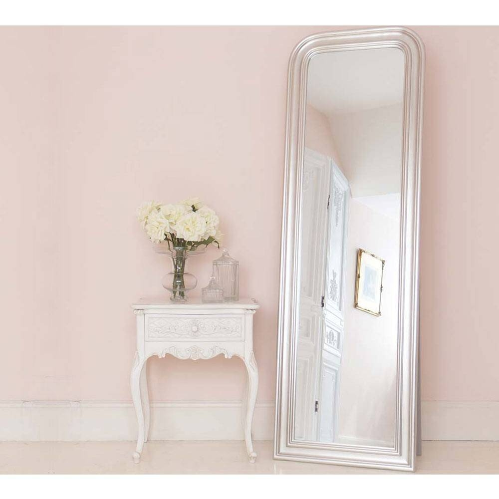 Provencal Charm Shabby Chic Bedside Table | Side Table with regard to Shabby Chic Free Standing Mirrors (Image 14 of 15)