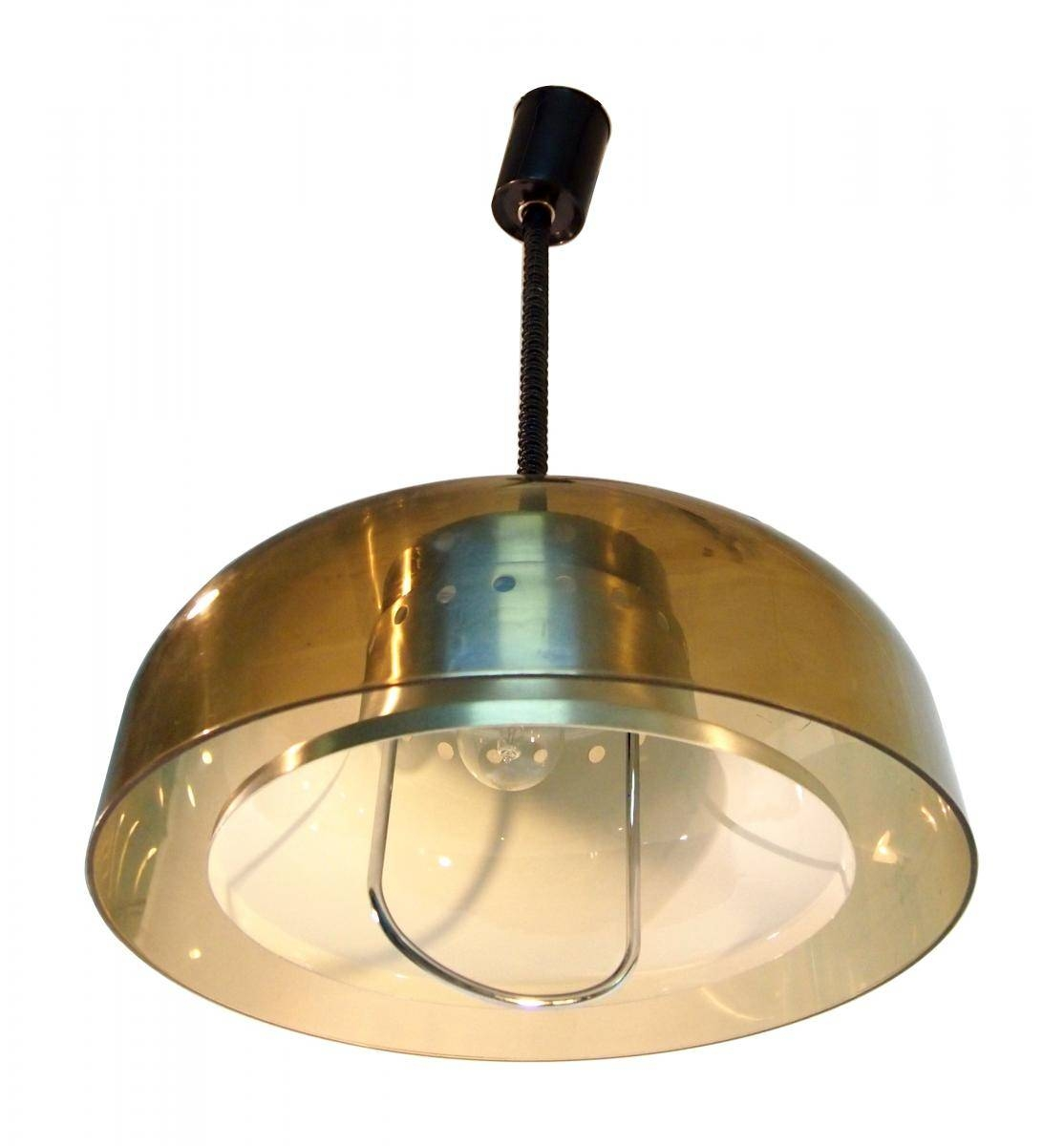 Pull-Down Space Age Pendant Hanging Lightharvey Guzzini, 1967 intended for Pull Down Pendant Lights (Image 10 of 15)
