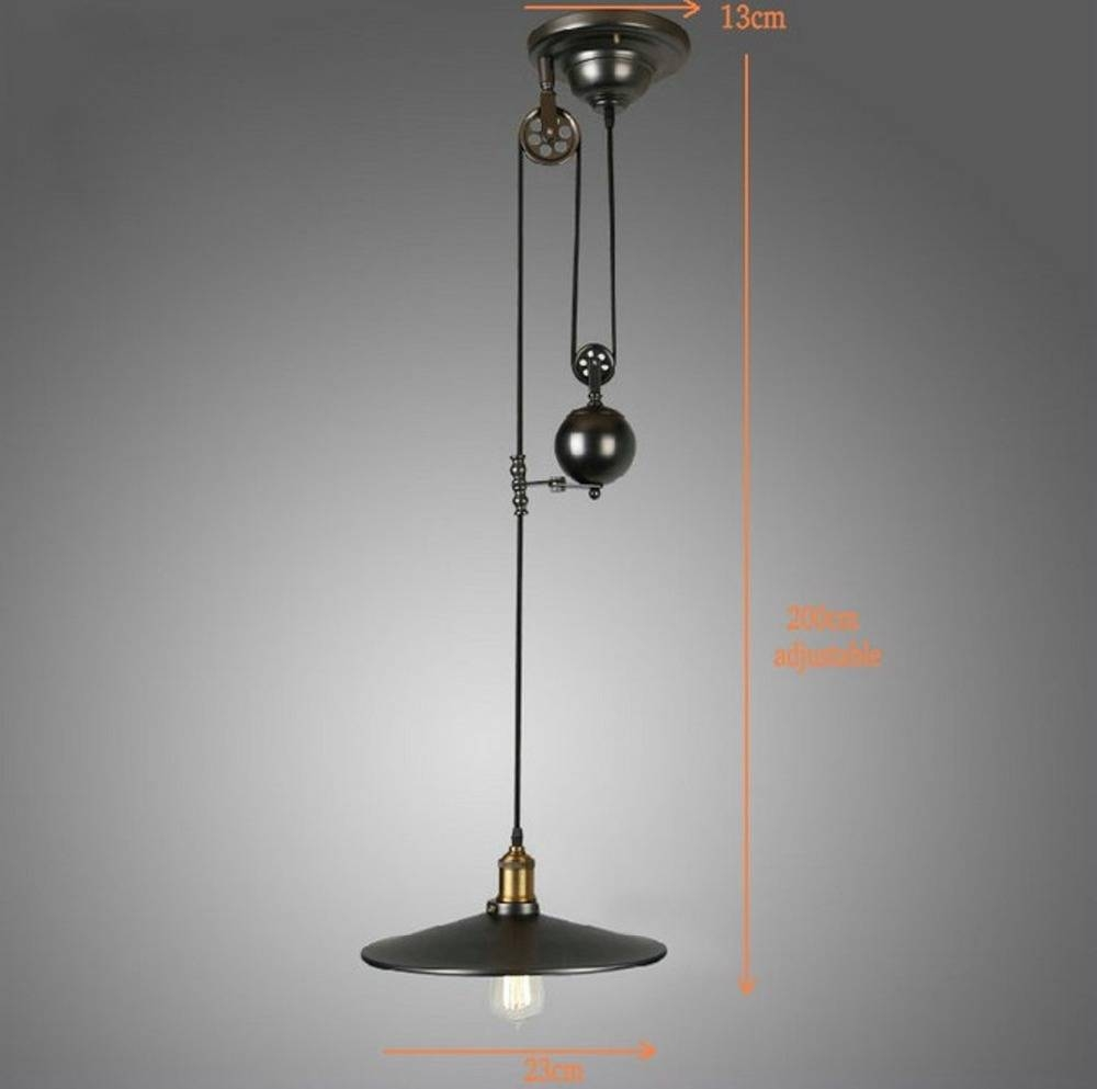 Pulley Light Fixtures Promotion-Shop For Promotional Pulley Light in Pulley Lights Fixtures (Image 13 of 15)