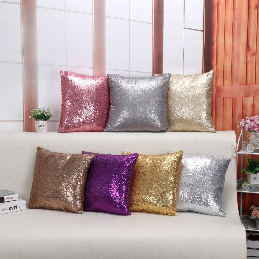 Purple Sofa Covers Reviews - Online Shopping Purple Sofa Covers throughout Sofa Cushion Covers (Image 11 of 15)