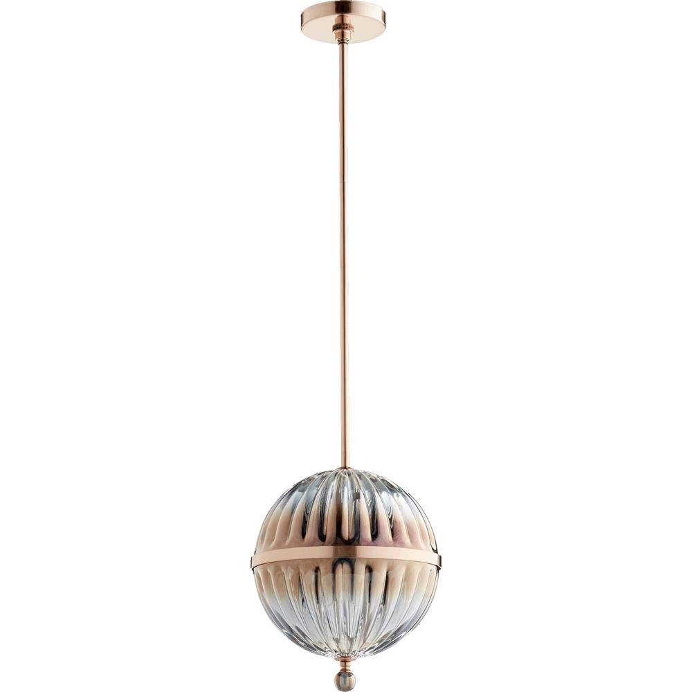 Quorum International Pendant Lighting Pendant Type: Globe Intended For Quorum Pendant Lights (View 5 of 15)