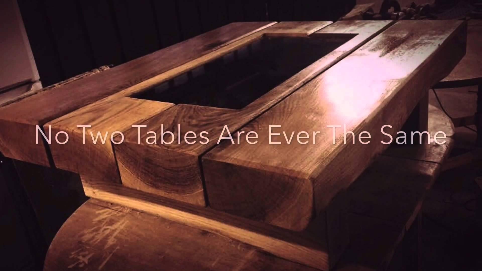 Railway Sleeper Table - Home Of The Chunky Oak Sleeper Coffee intended for Oak Sleeper Coffee Tables (Image 7 of 15)
