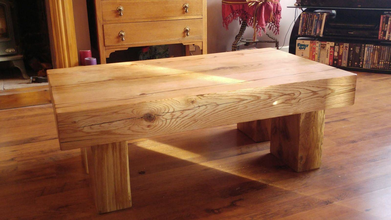 Railway Sleepers - Passionate About Railway Sleepers regarding Oak Sleeper Coffee Tables (Image 8 of 15)