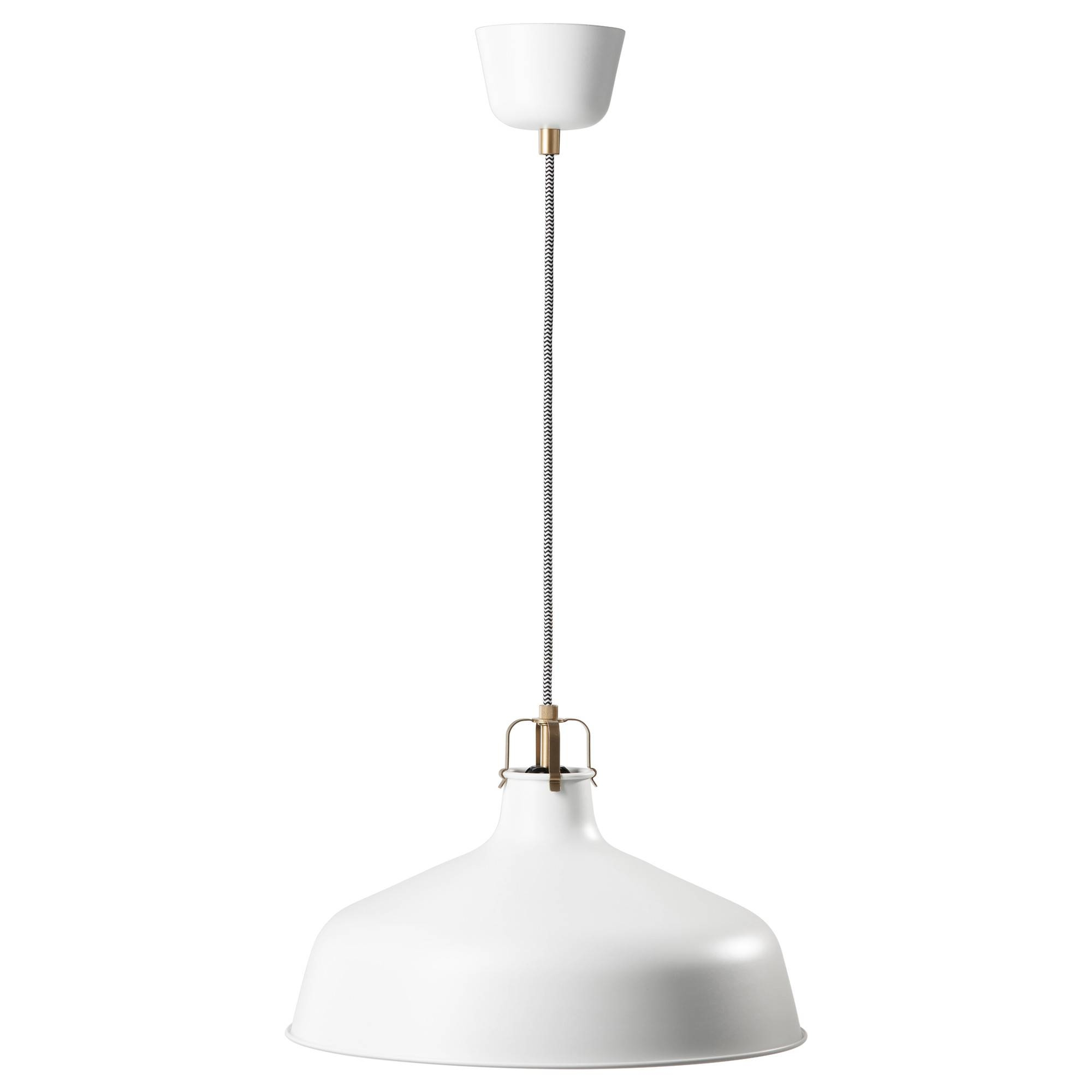 Ranarp Pendant Lamp Off-White 38 Cm - Ikea intended for Ikea Ceiling Lights Fittings (Image 13 of 15)
