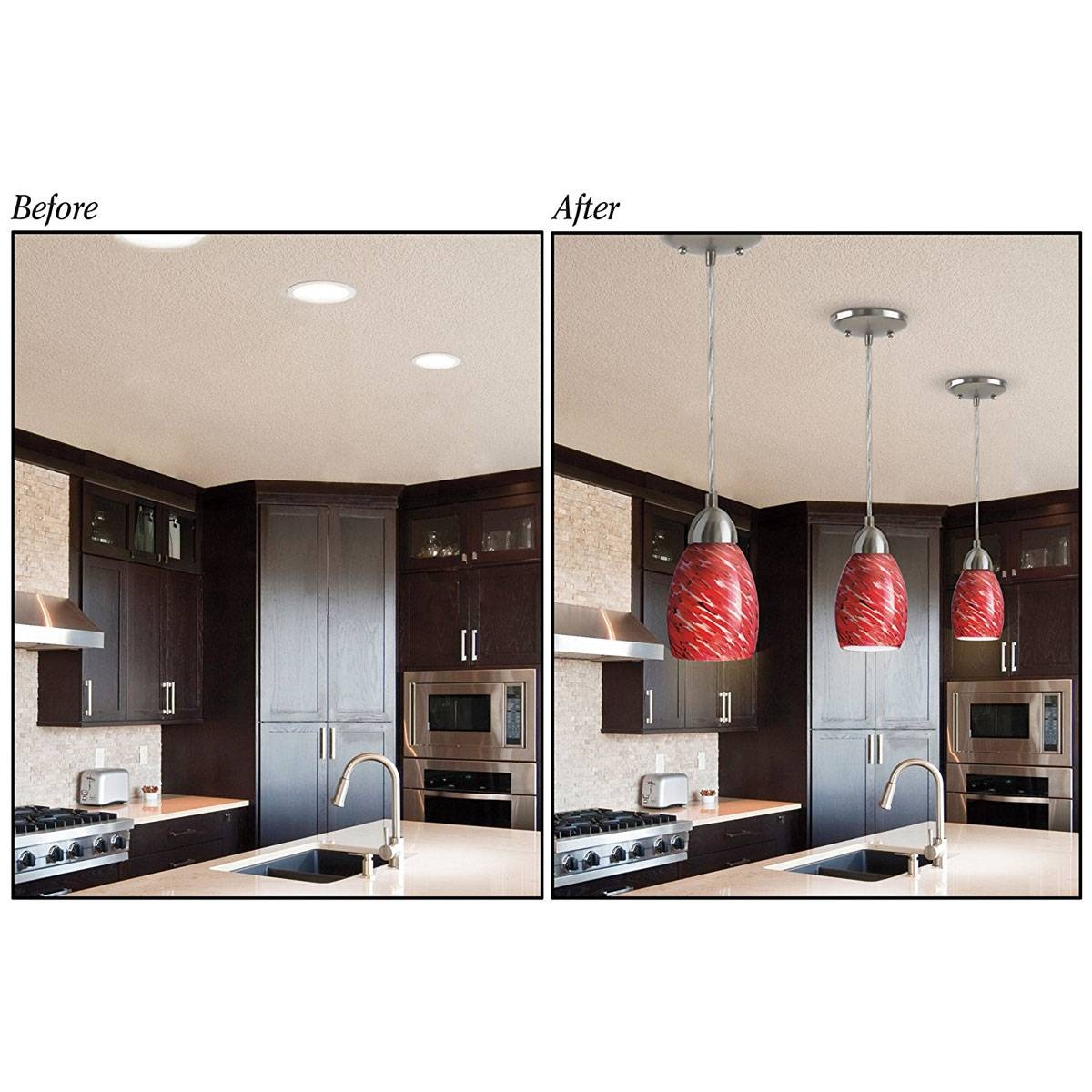 Recessed Lighting: 10 Best Convert Recessed Light To Pendant with regard to Recessed Lights to Pendant Lights (Image 10 of 15)