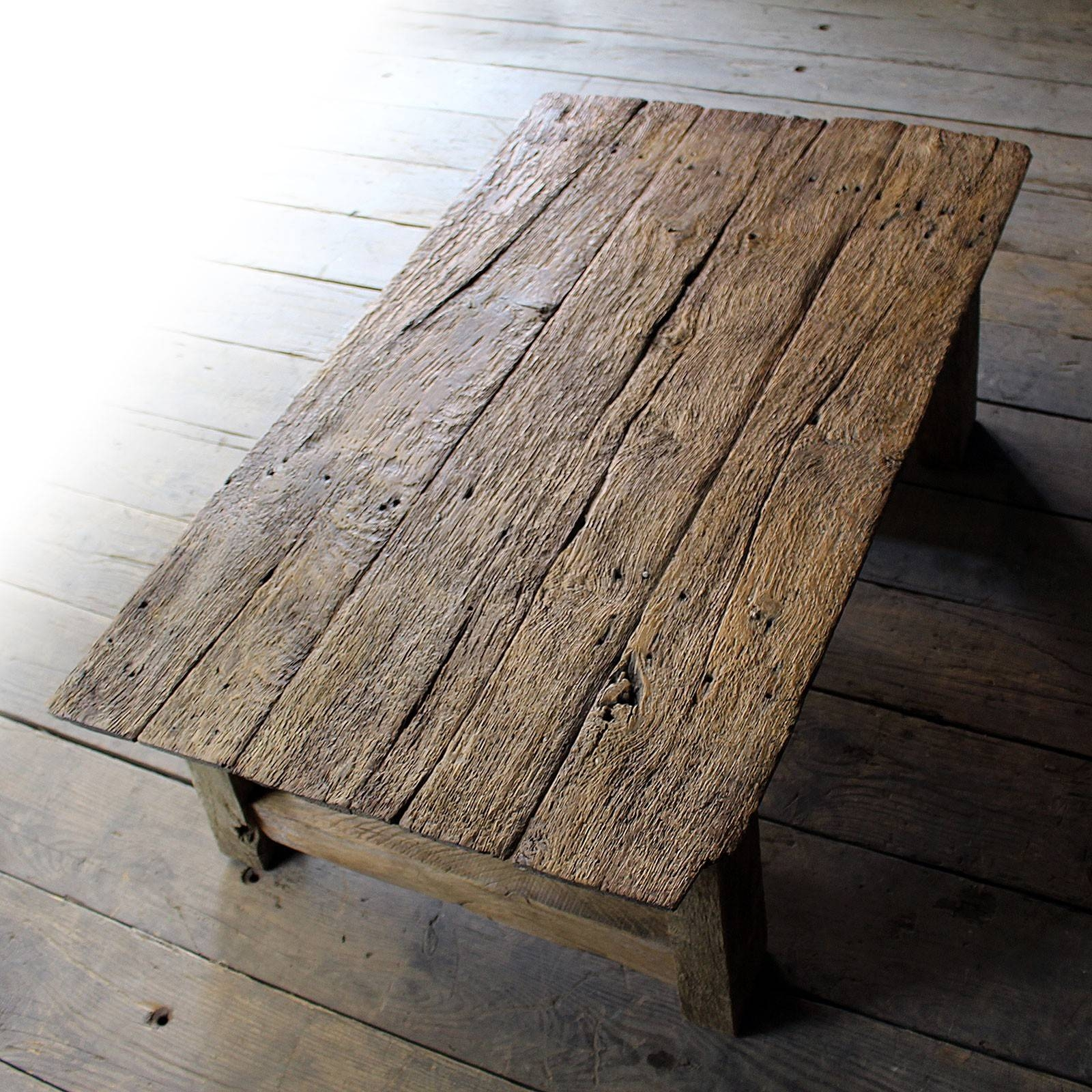Reclaim Oak Coffee Table – Tables & Desks – Antiques – All Stock Pertaining To Reclaimed Oak Coffee Tables (View 12 of 15)