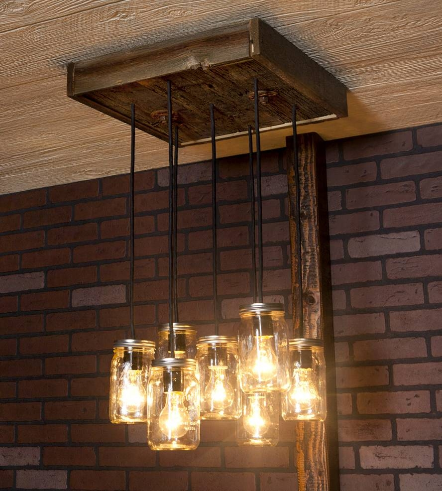 Reclaimed Wood Chandelier Models With Regard To Pendant Lighting Image 12 Of