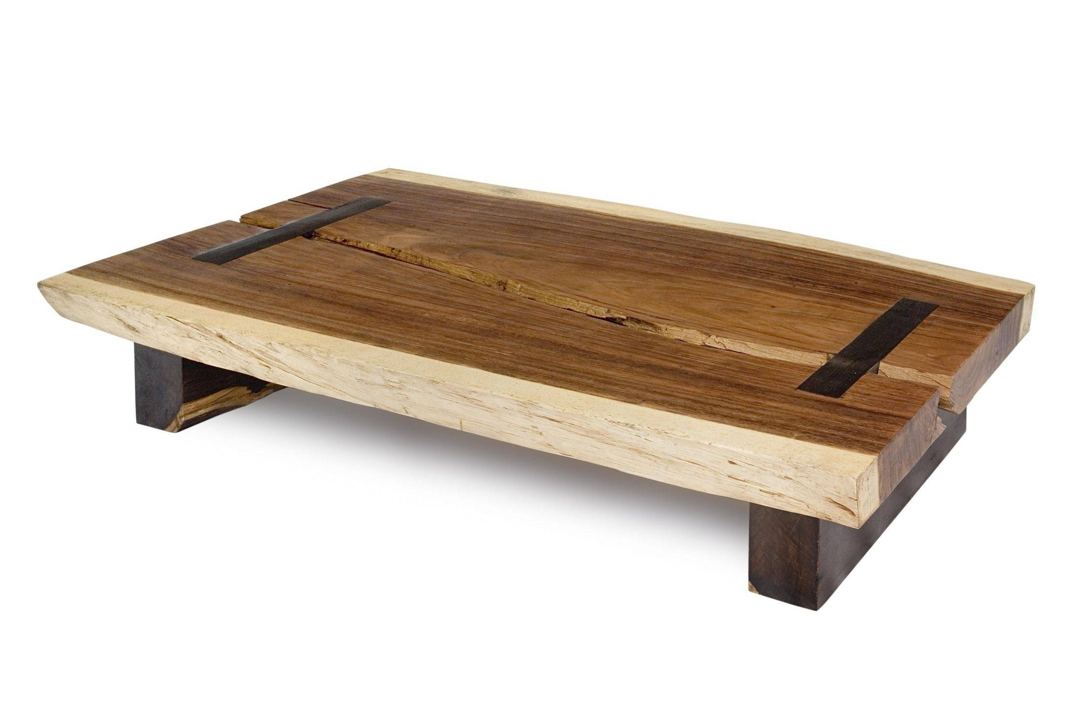 Reclaimed Wood Coffee Table Sets - Coffee Addicts for Natural Wood Coffee Tables (Image 12 of 15)