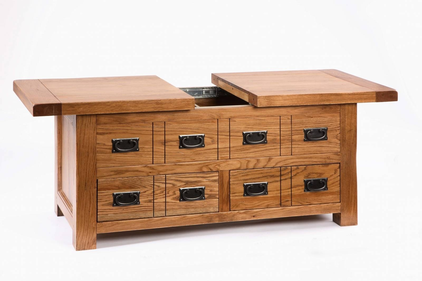 Rectangle Coffee Tables With Storage – Coffee Addicts Inside Oak Coffee Table With Storage (View 12 of 15)
