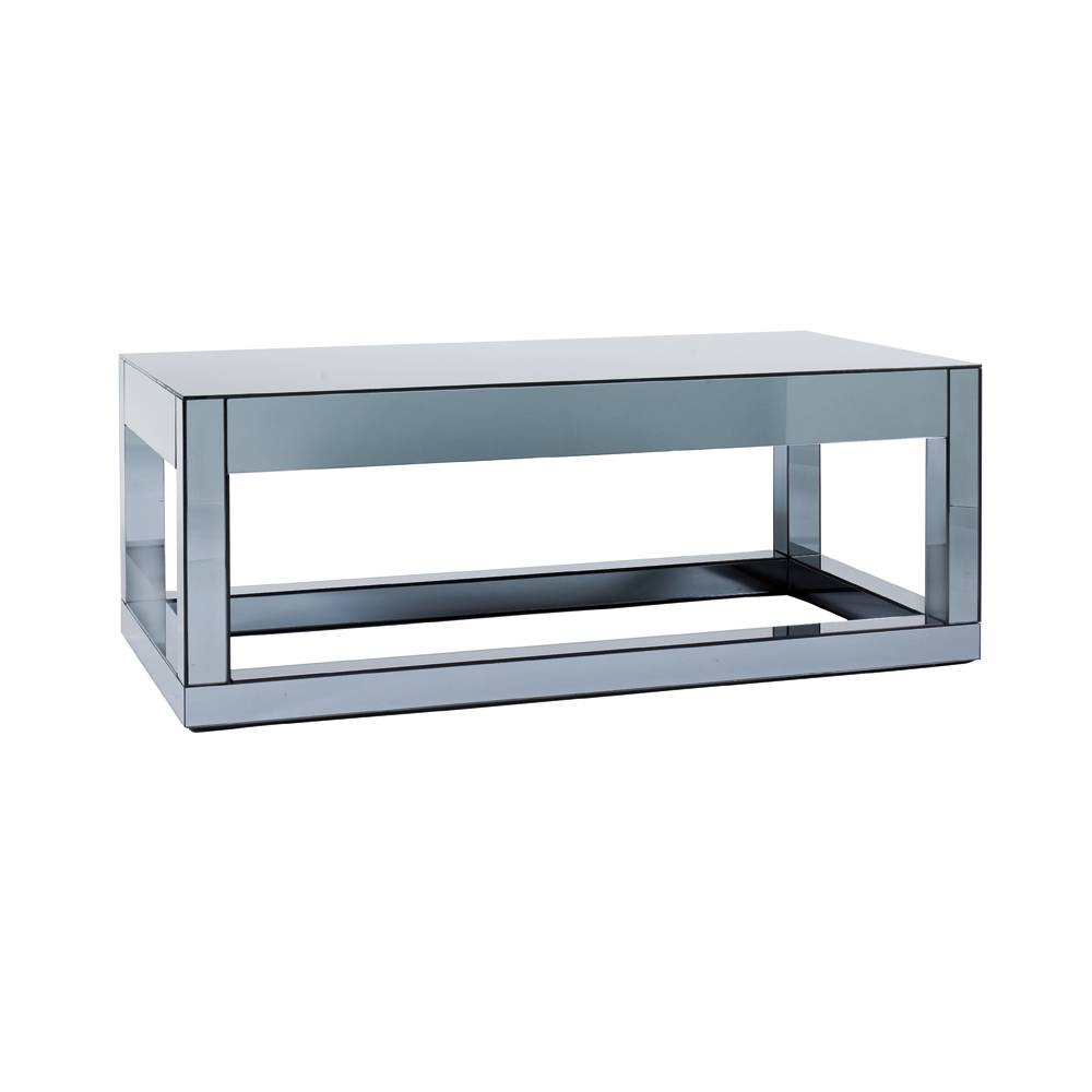 Reflect Mirrored Coffee Table - Dwell in Mirror Glass Coffee Table (Image 10 of 15)