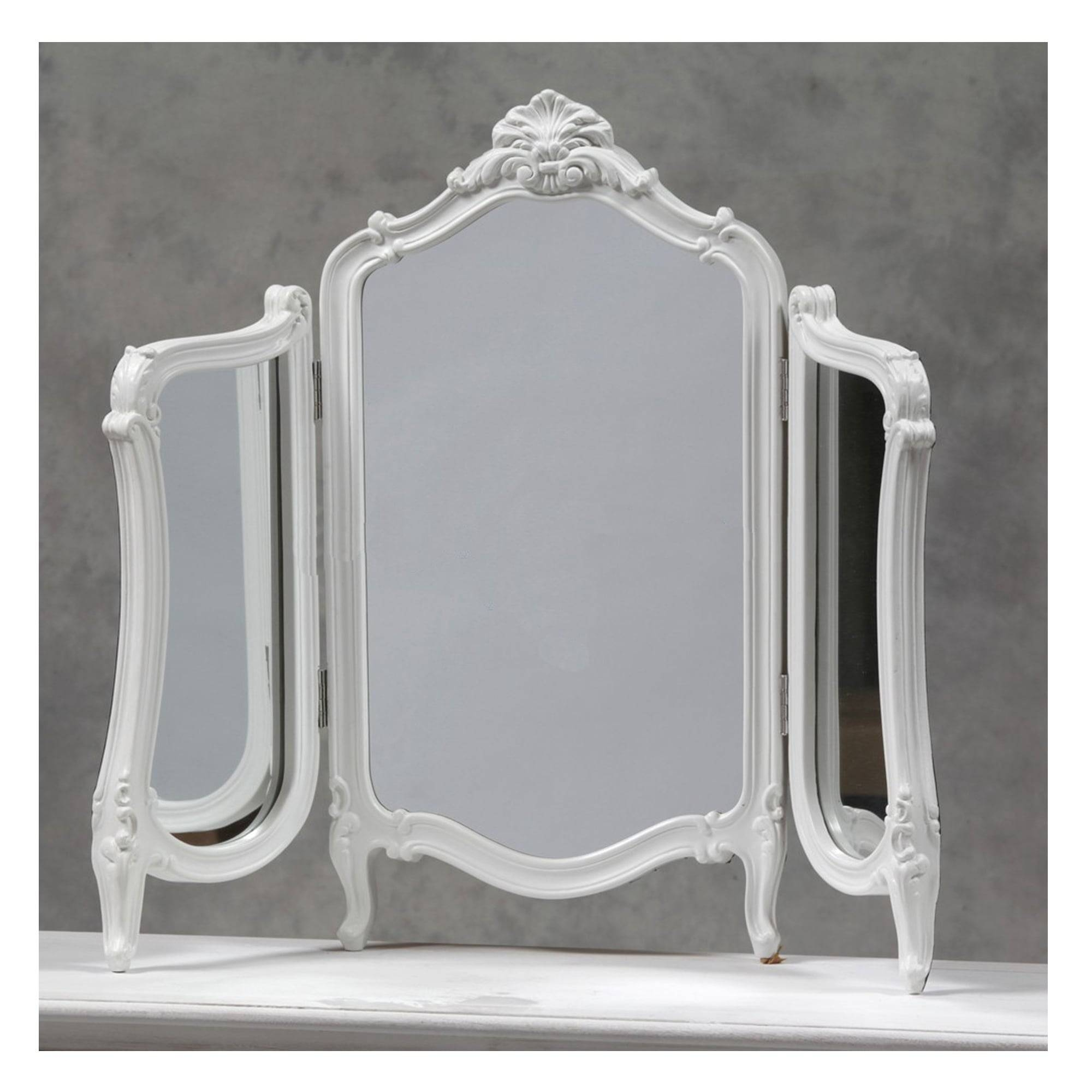 Regency Antique French Style Table Mirror - French Mirrors From with regard to Antique French Mirrors (Image 14 of 15)