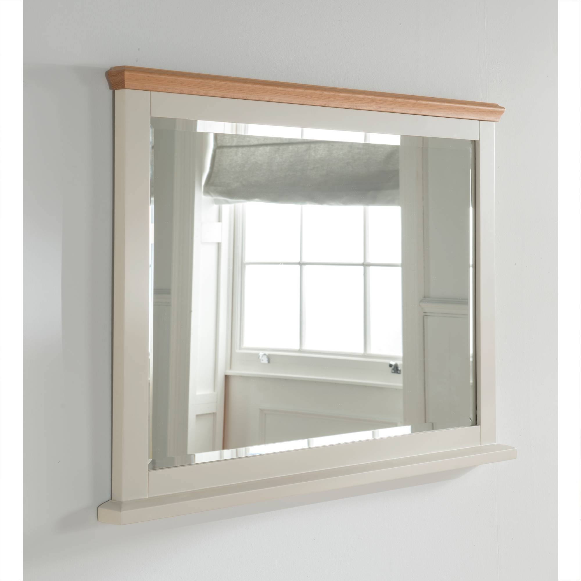 Remi Shabby Chic Wall Mirror | French Style Mirrors intended for Shabby Chic Wall Mirrors (Image 9 of 15)