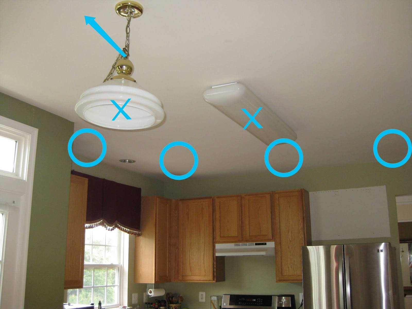 Remodelando La Casa: Thinking About Installing Recessed Lights? with Installing Pendant Light Fixtures (Image 10 of 15)