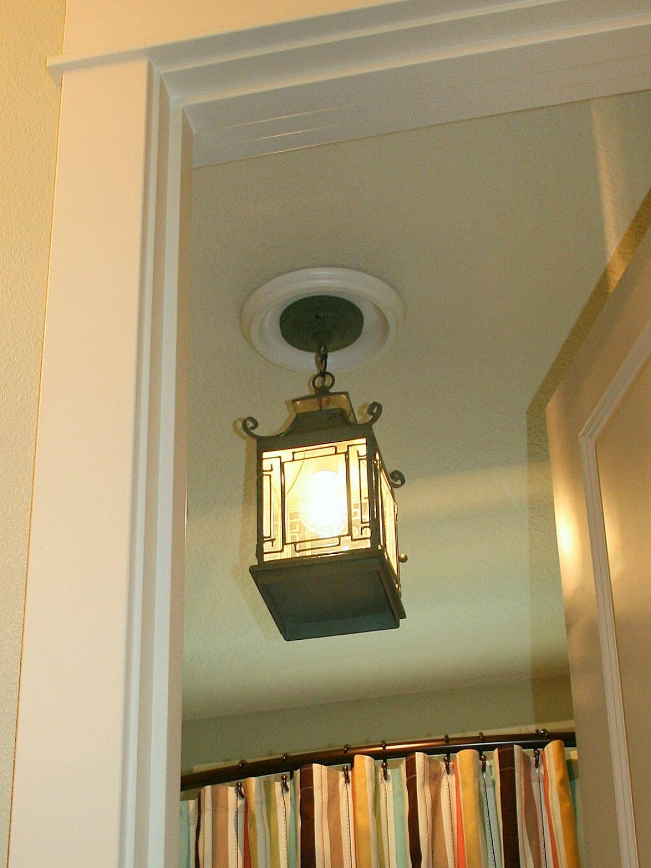 Replace Recessed Light With A Pendant Fixture | Hgtv Regarding Recessed Lights Pendants (View 10 of 15)